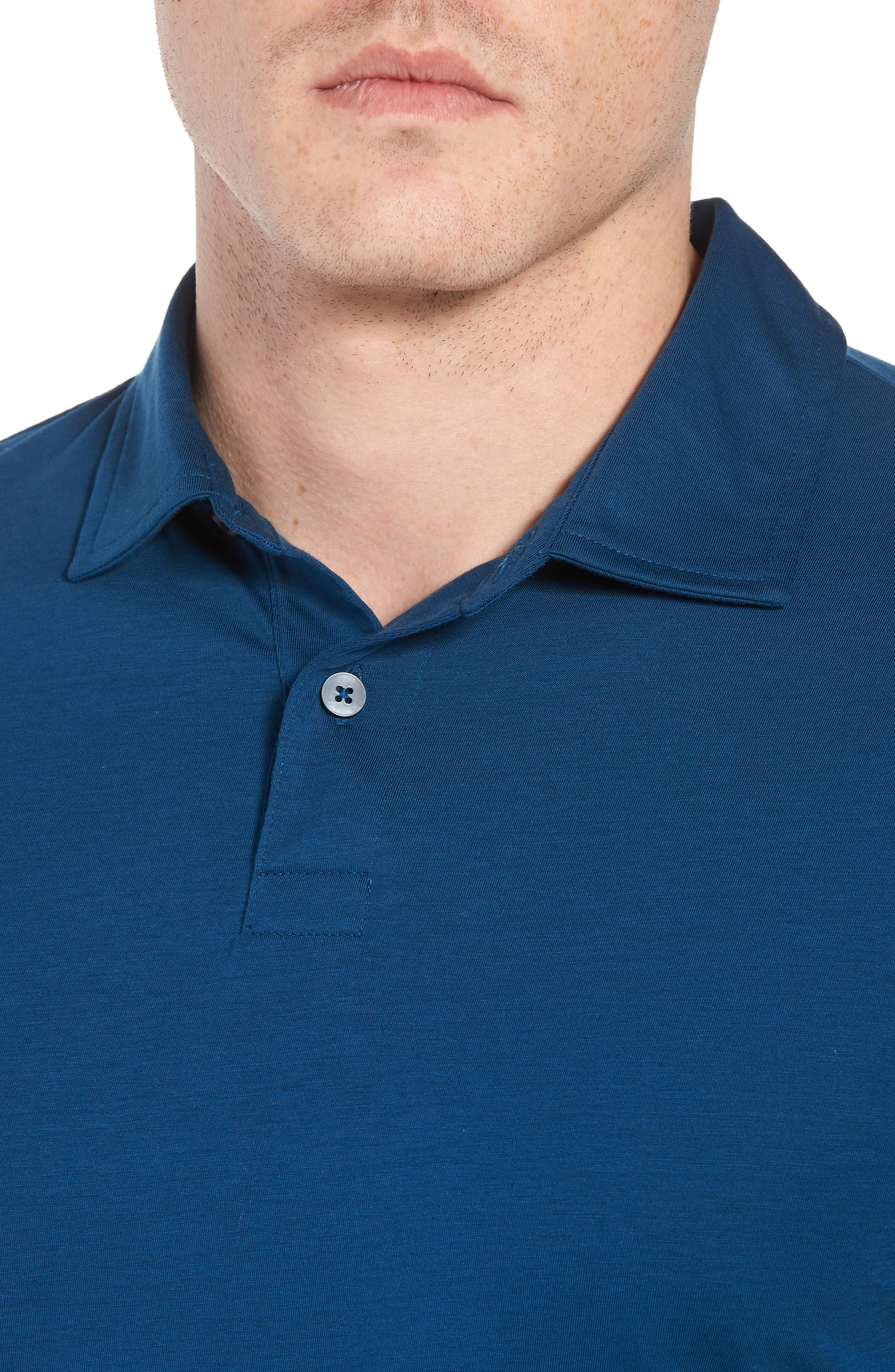 Refined Jersey Polo,                             Alternate thumbnail 31, color,