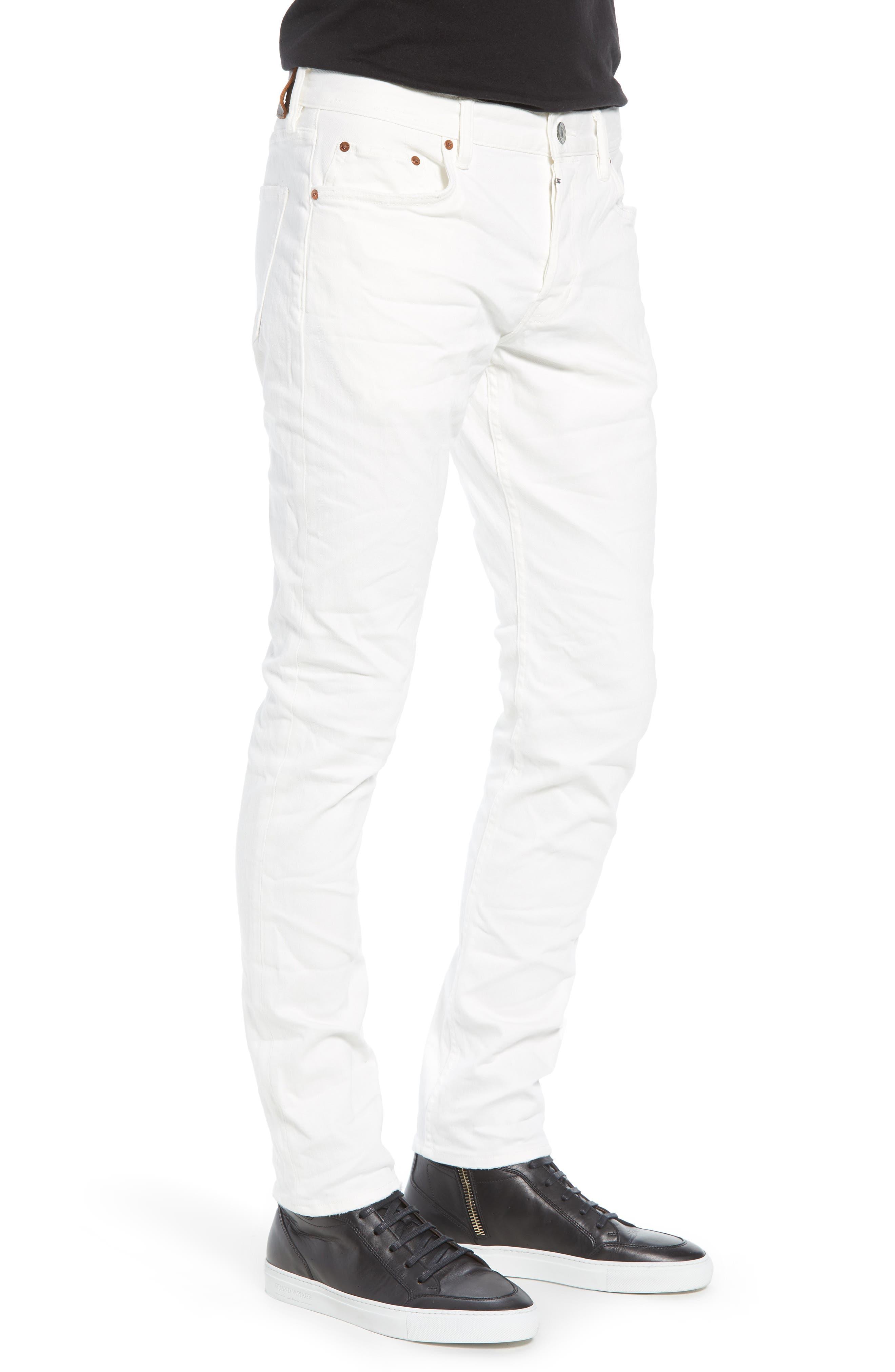 Weott Rex Slim Fit Jeans,                             Alternate thumbnail 3, color,                             100