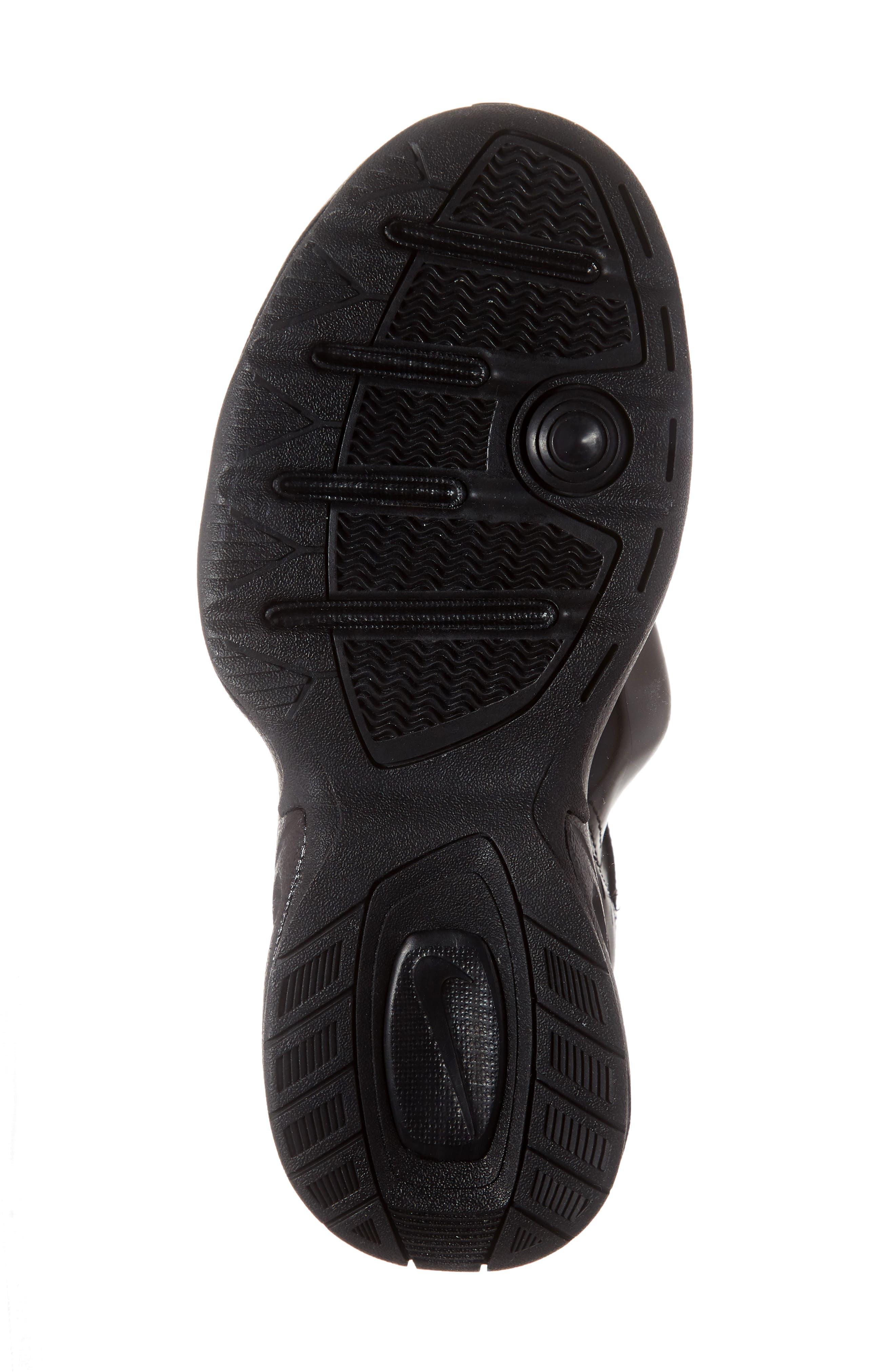 x Martine Rose Air Monarch IV Sneaker,                             Alternate thumbnail 6, color,                             BLACK/ SOFT PINK
