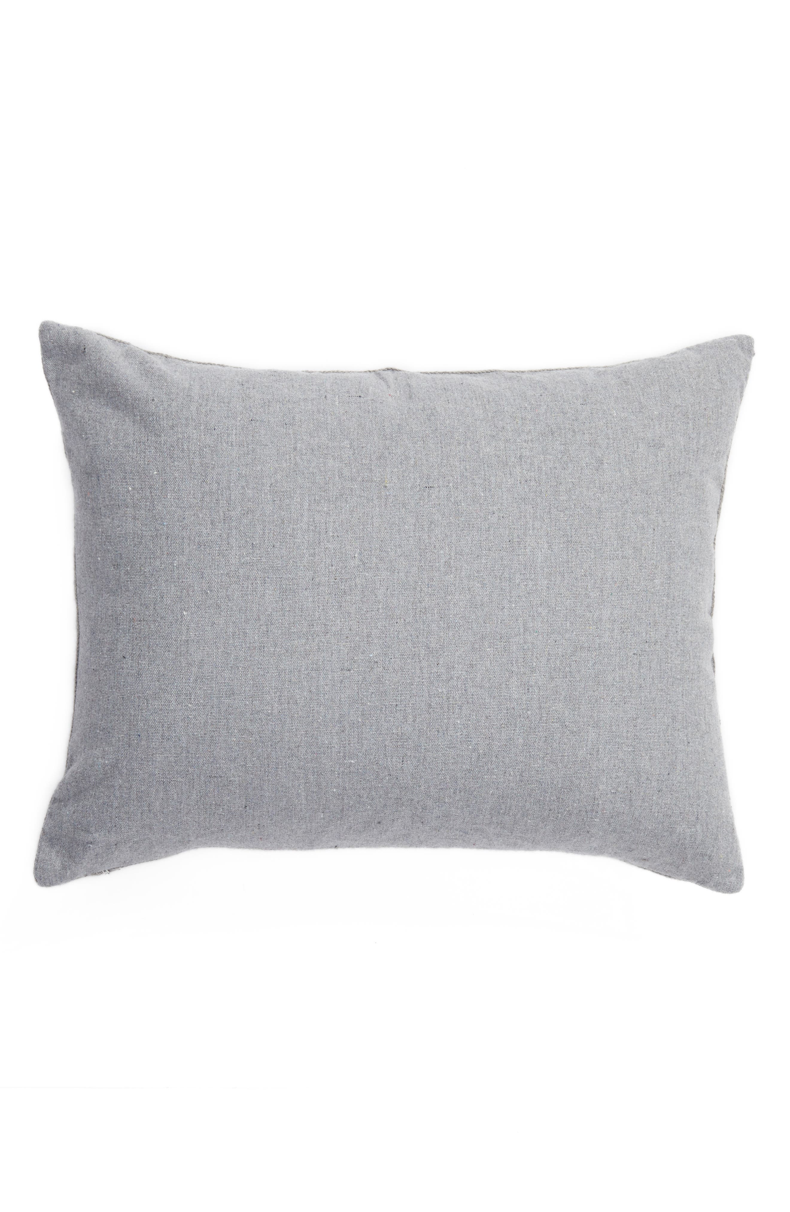 Caleb Crewel Stitch Accent Pillow,                             Alternate thumbnail 2, color,                             040