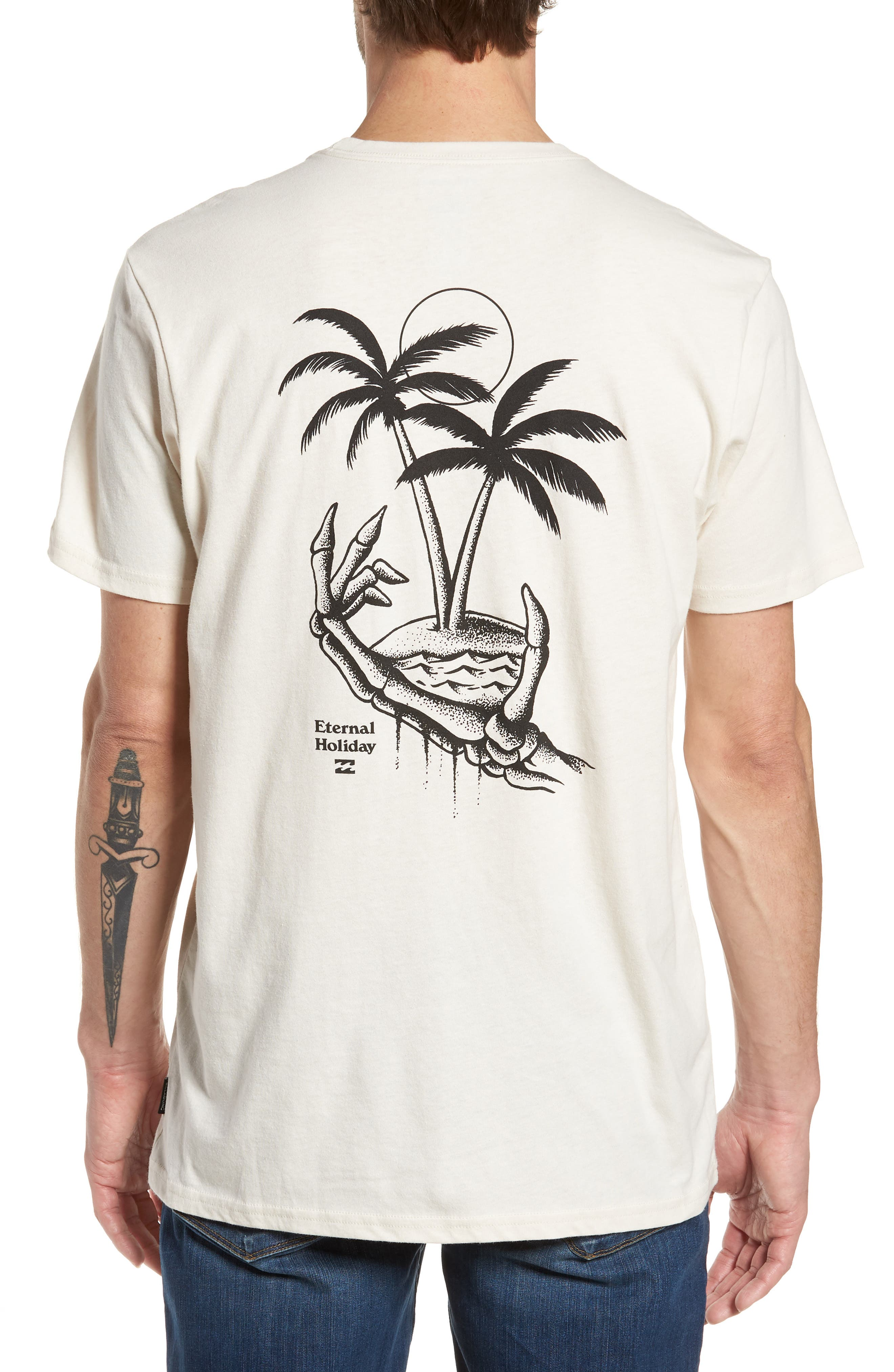 Permanent Vacation Graphic T-Shirt,                             Alternate thumbnail 2, color,