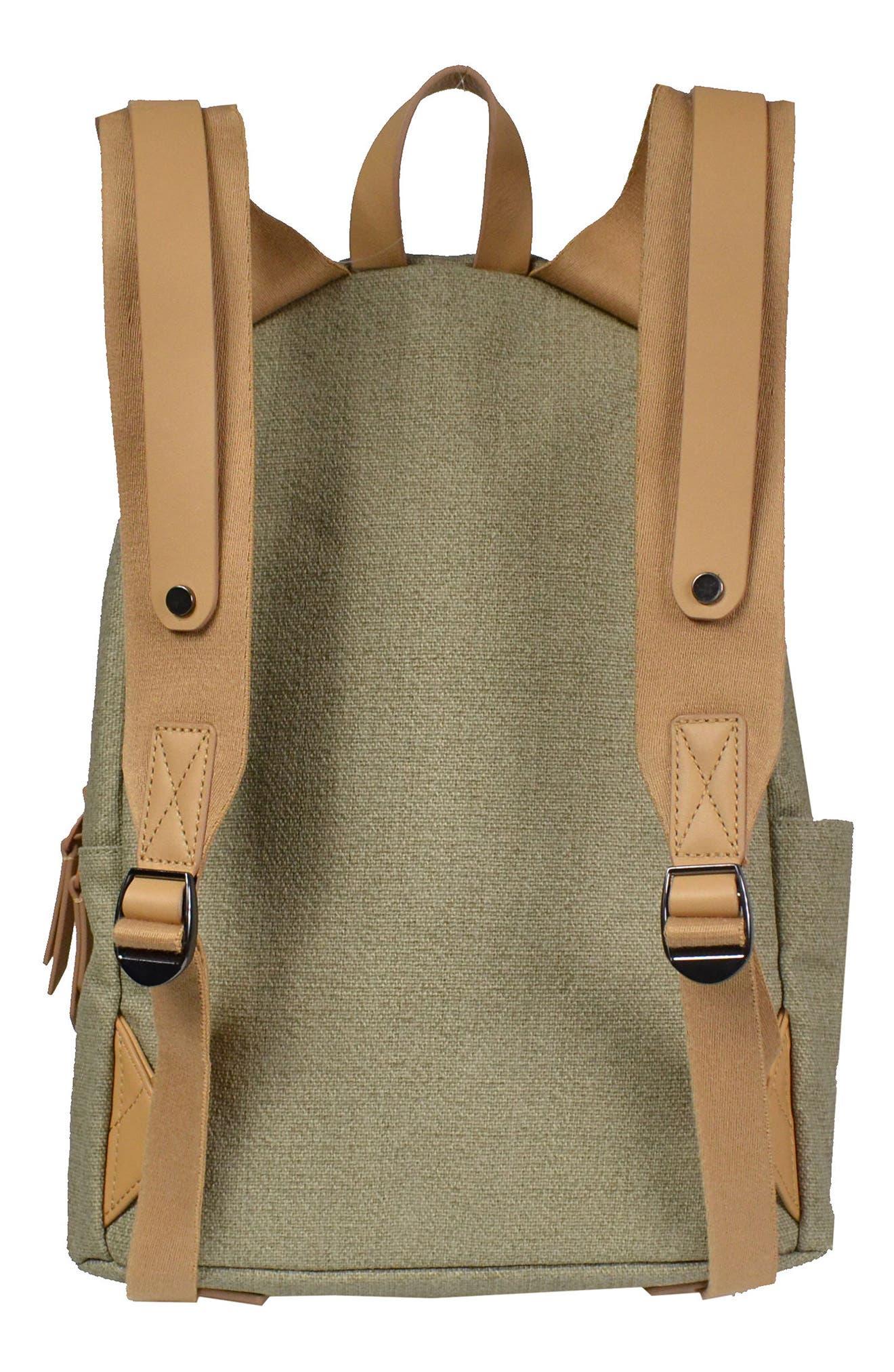 Indie Boiled Wool Backpack,                             Alternate thumbnail 8, color,
