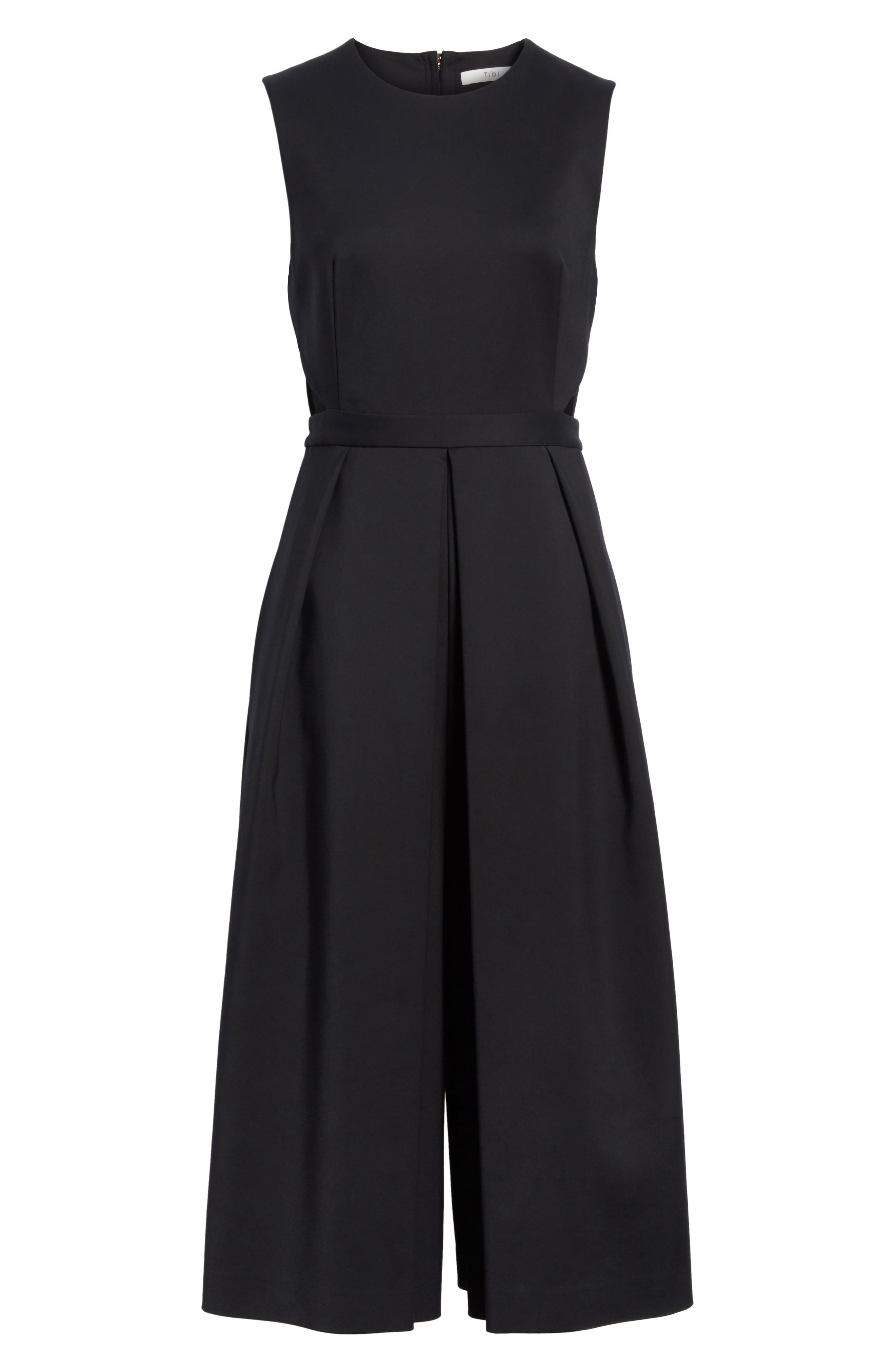 Side Cutout Jumpsuit,                             Alternate thumbnail 6, color,