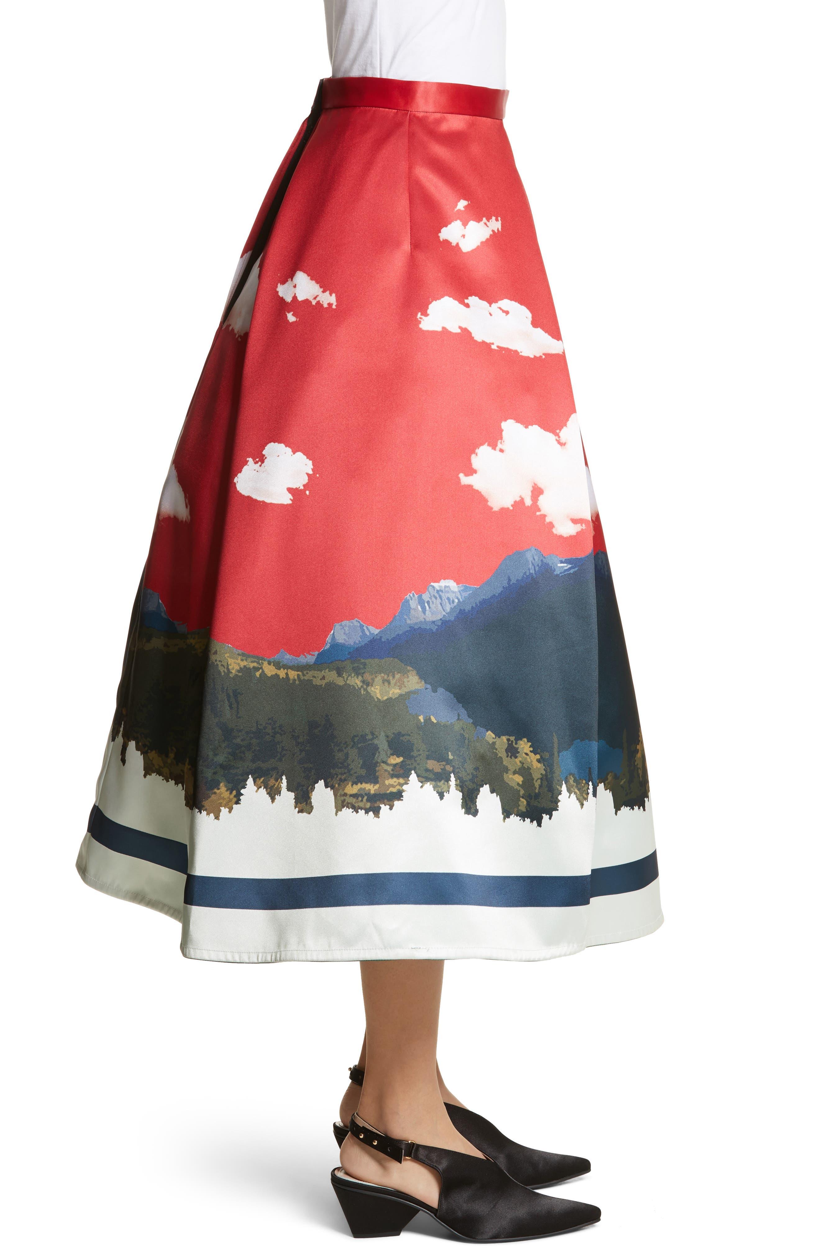 Day/Night Reversible Skirt,                             Alternate thumbnail 4, color,                             600
