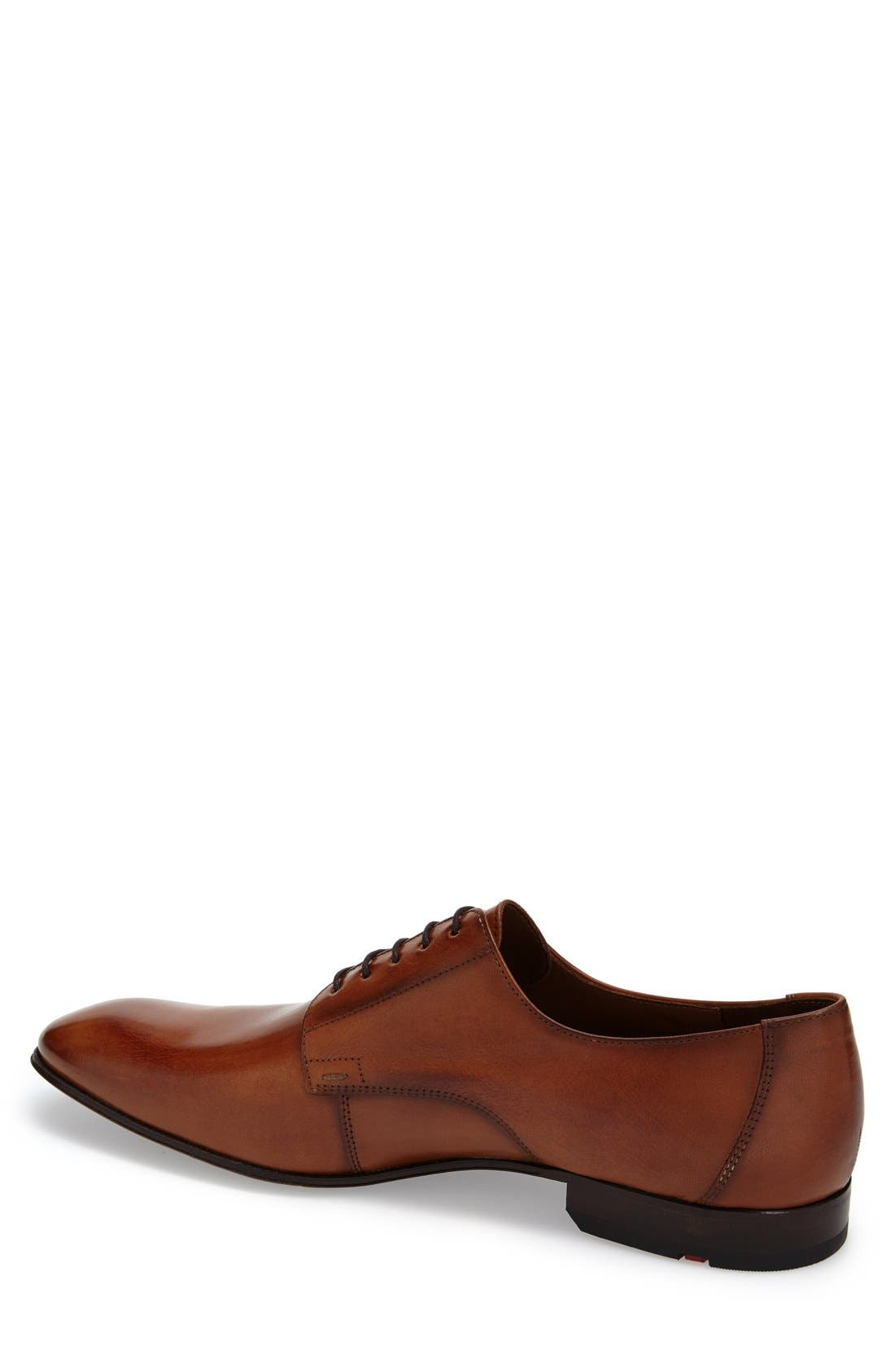 'Laurin' Plain Toe Derby,                             Alternate thumbnail 2, color,                             LIGHT BROWN