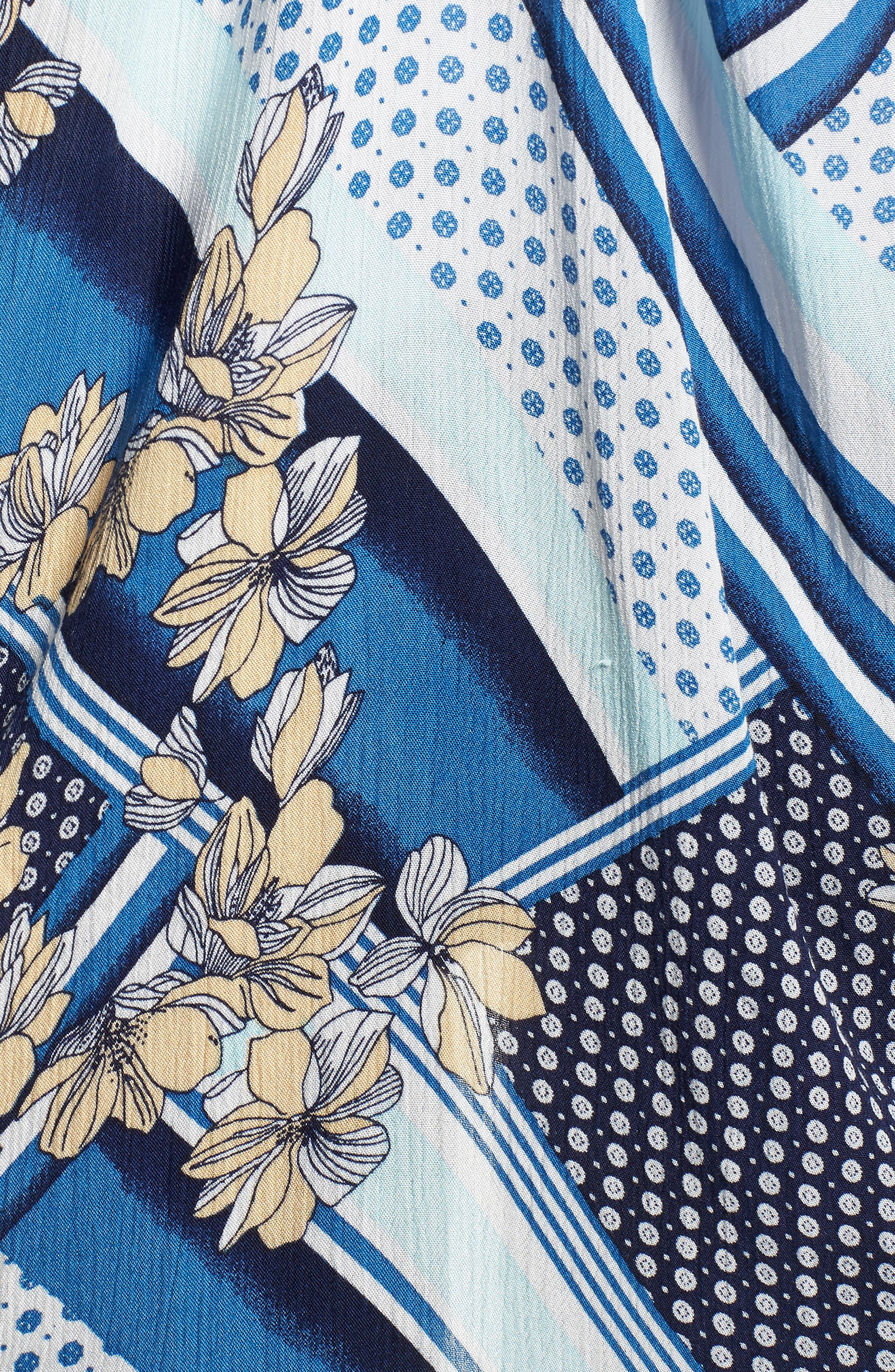 Morning Glory Kimono,                             Alternate thumbnail 5, color,                             MULTI