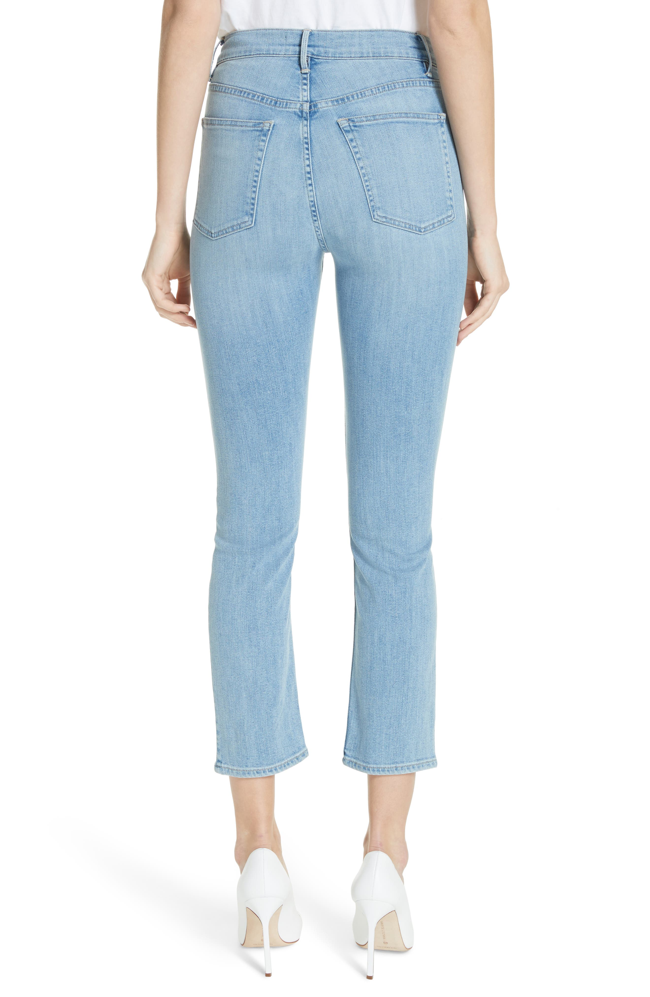 W4 Colette Crop Skinny Jeans,                             Alternate thumbnail 2, color,                             CARLO