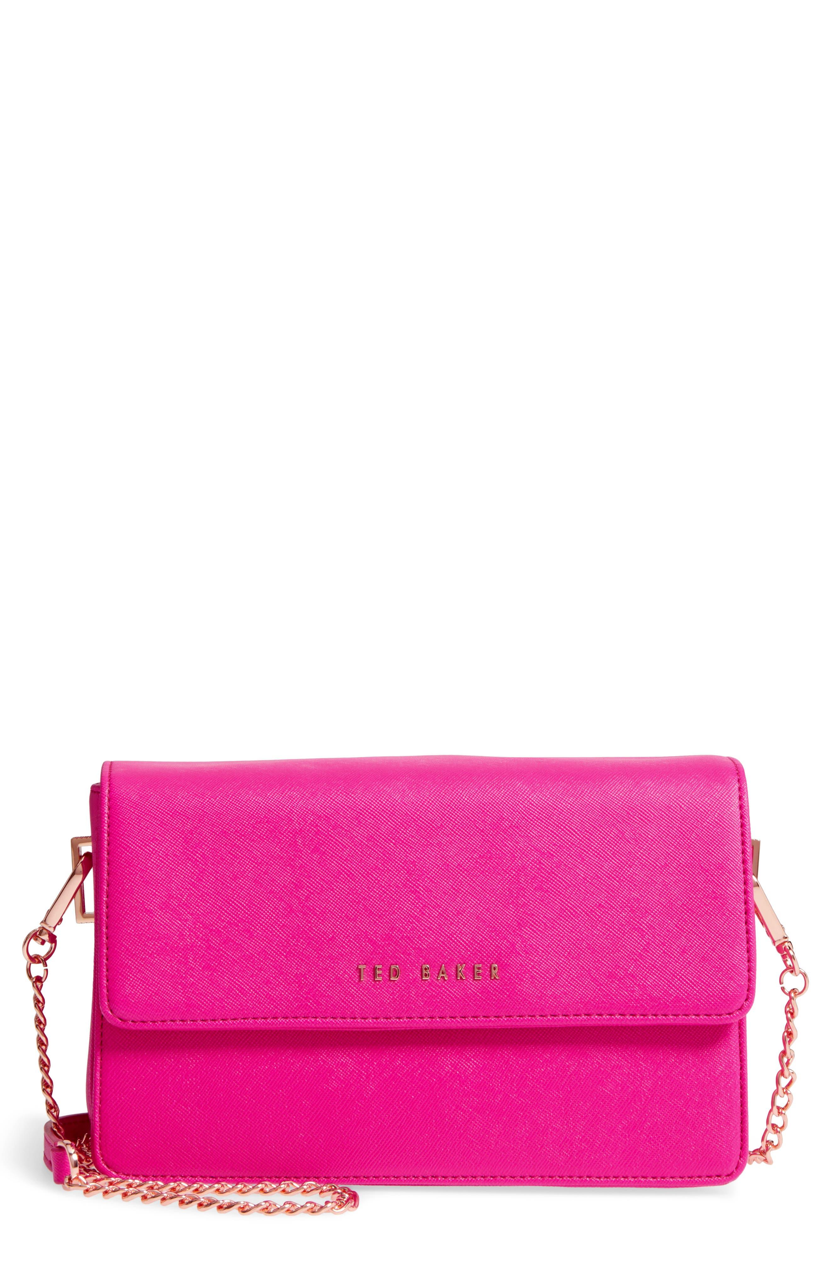 Heatha Faux Leather Crossbody Bag,                             Main thumbnail 3, color,