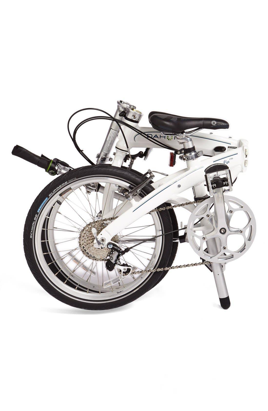 DAHON,                             'Mu P8' Folding Bike,                             Alternate thumbnail 4, color,                             100