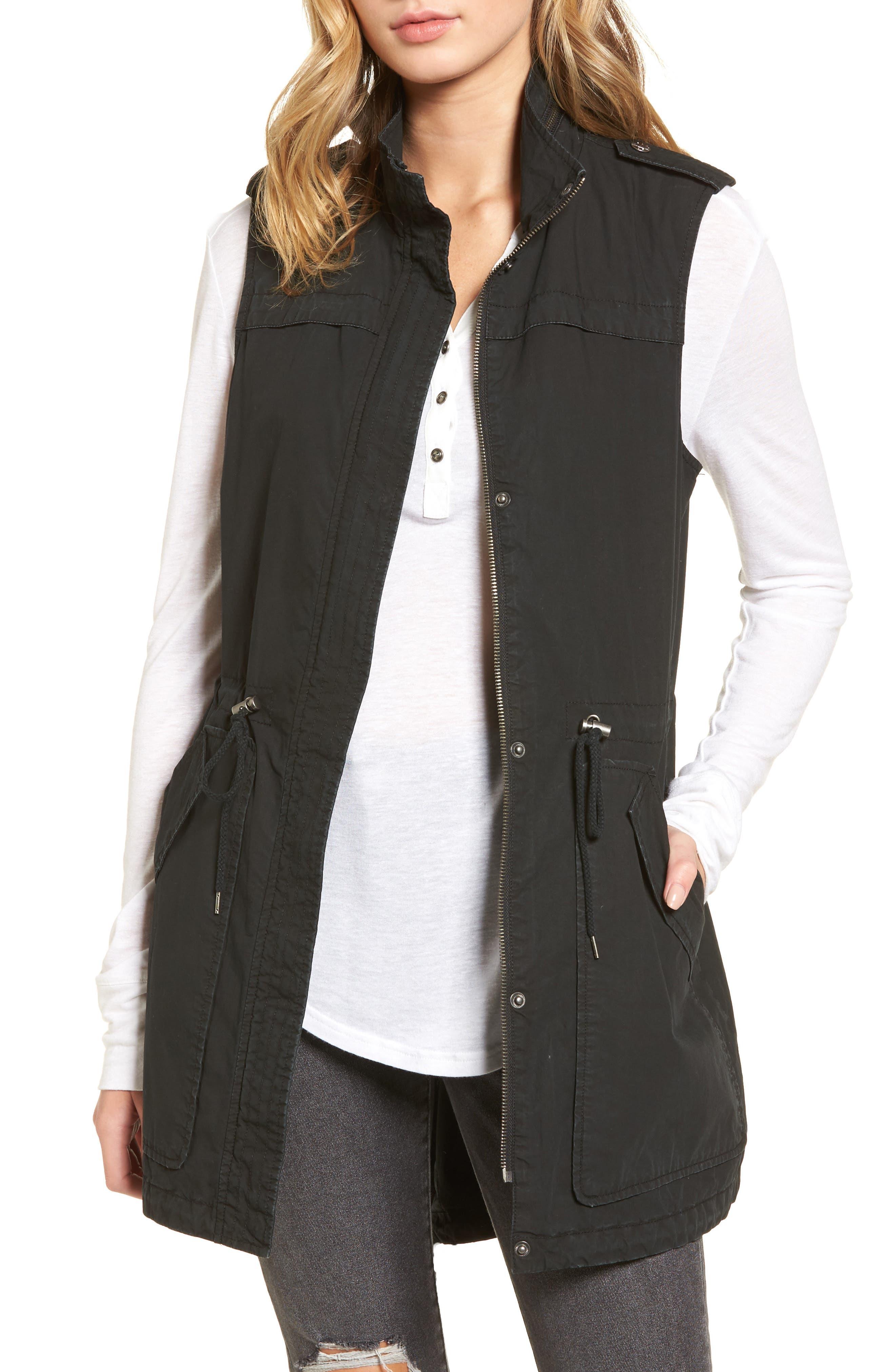 Levi's Parachute Cotton Vest,                             Main thumbnail 1, color,