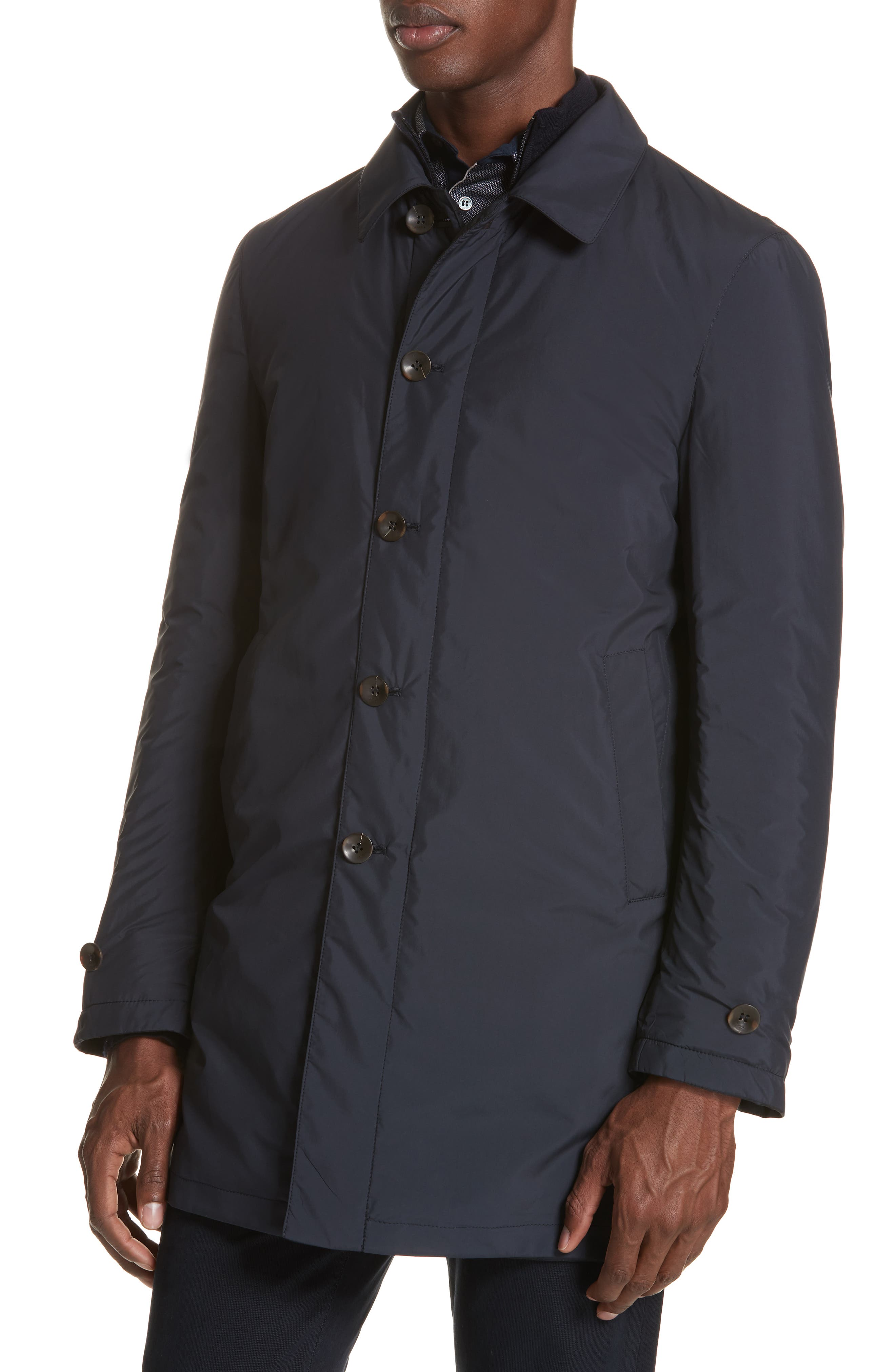 Regular Fit Reversible Raincoat,                             Alternate thumbnail 2, color,