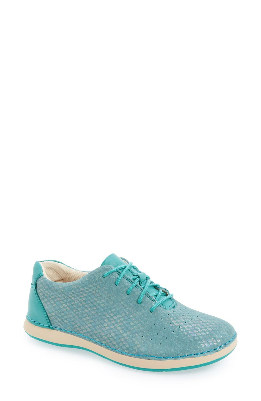 Essence Lace-Up Leather Oxford,                             Main thumbnail 24, color,