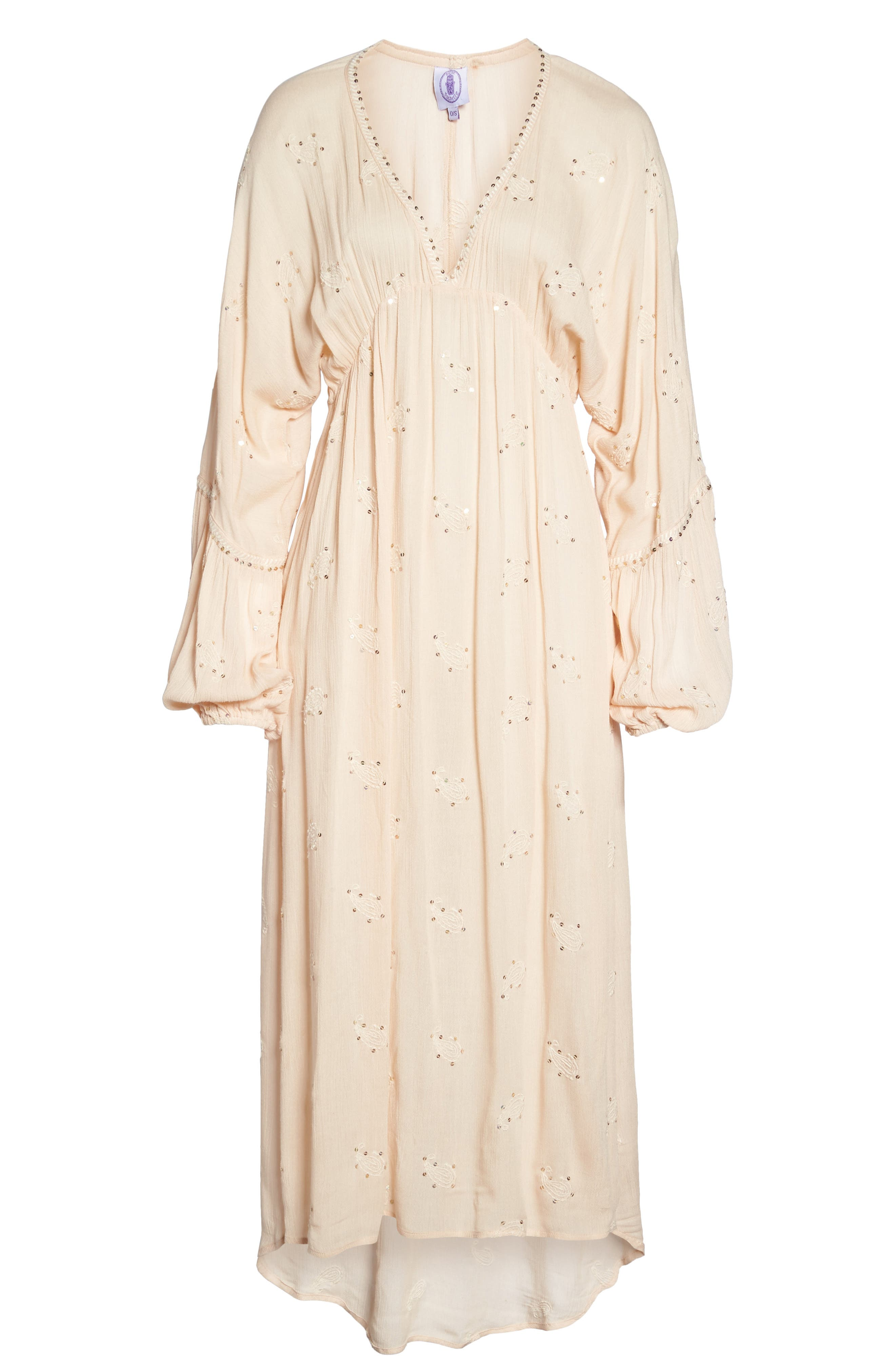 Mercer Cover-Up Maxi Dress,                             Alternate thumbnail 6, color,                             650