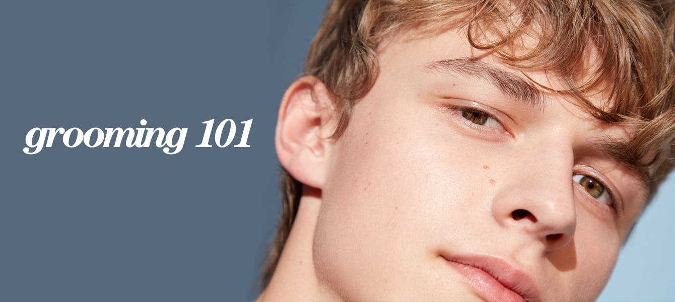Men's grooming 101: men's skin care products and tips.