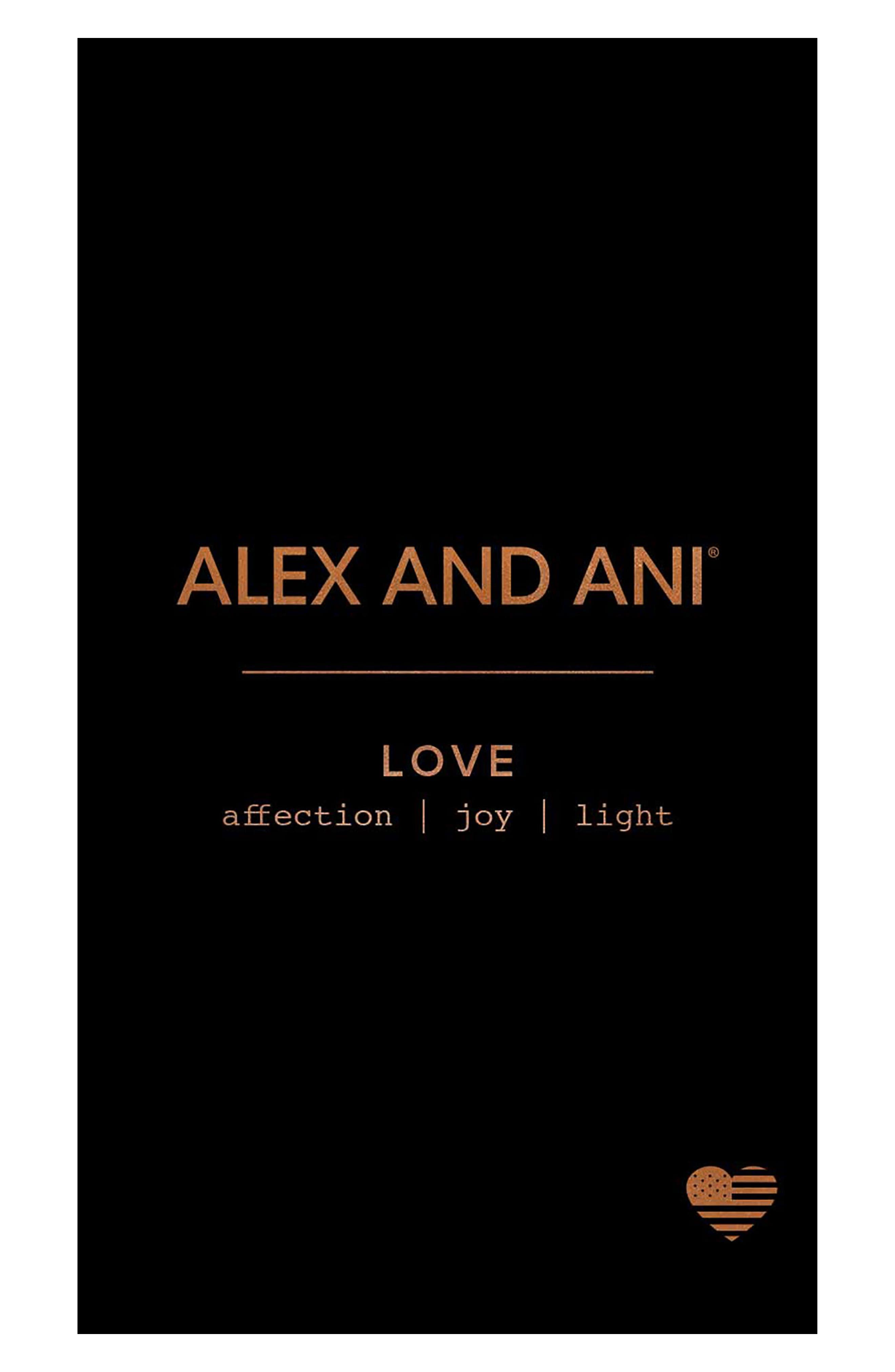 Love Drop Earrings,                             Alternate thumbnail 3, color,                             SILVER