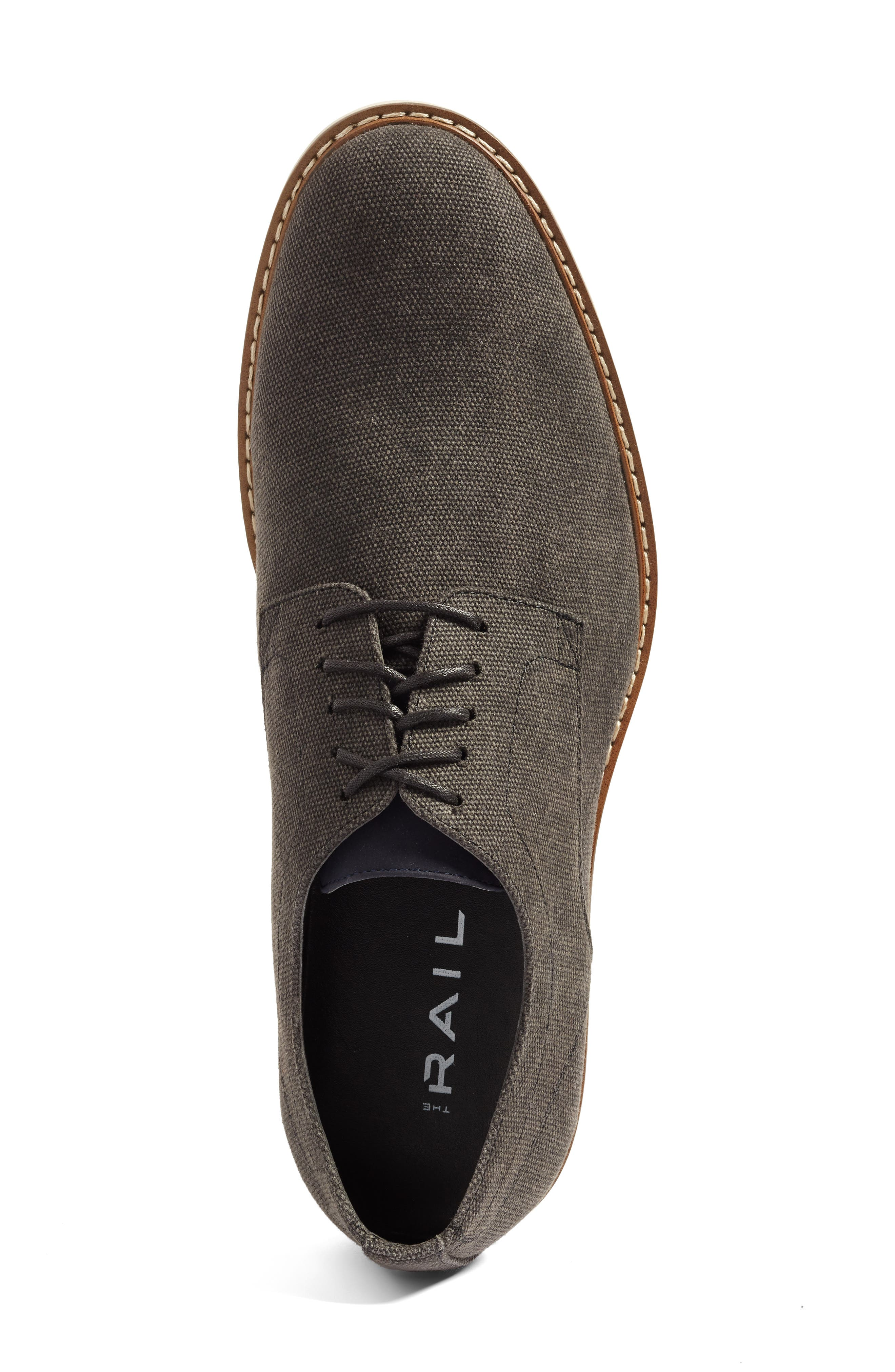 Austin Buck Shoe,                             Alternate thumbnail 3, color,                             BLACK CANVAS