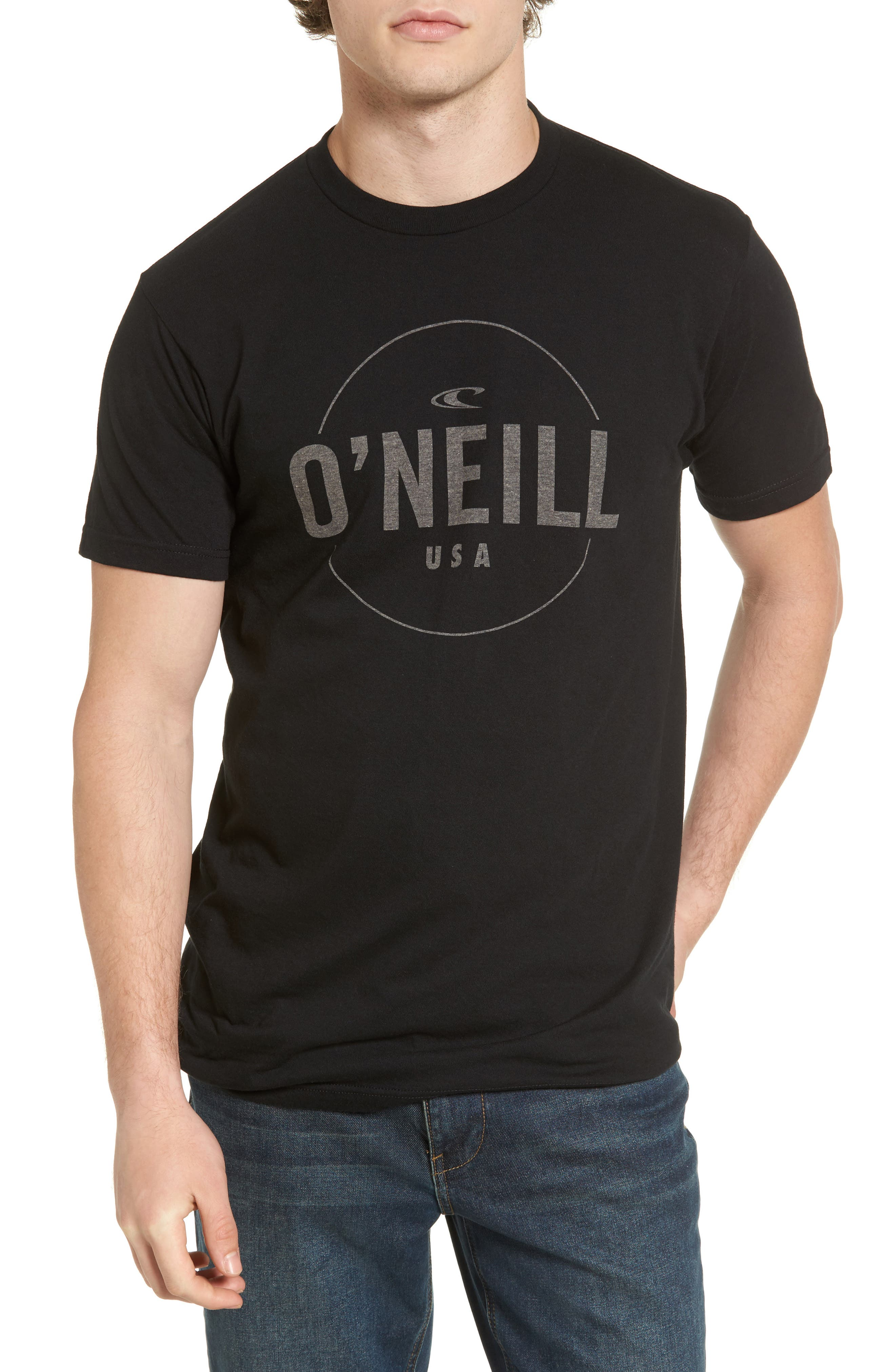 Agent Logo Graphic T-Shirt,                         Main,                         color, 003