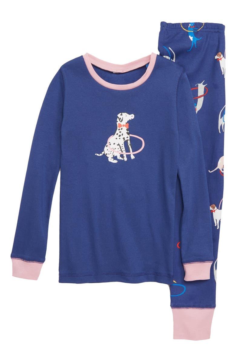 bb629763c Mini Boden Fitted Cosy Long John Pajamas (Toddler Girls