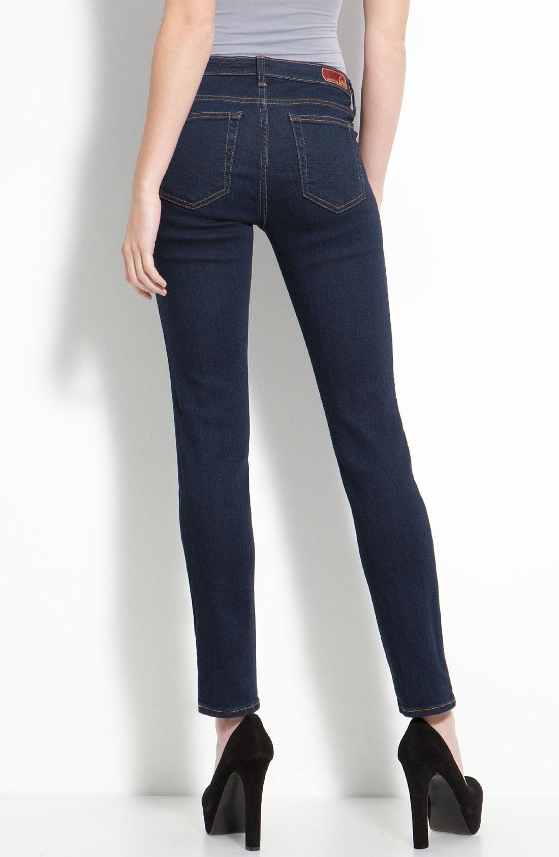 Skinny Stretch Jeans,                             Alternate thumbnail 27, color,