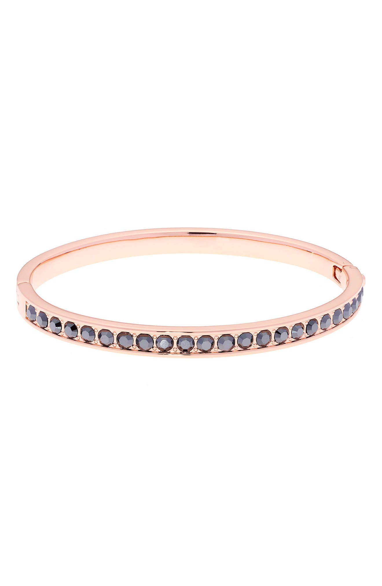 Clemara Hinge Bangle Bracelet,                         Main,                         color, 001