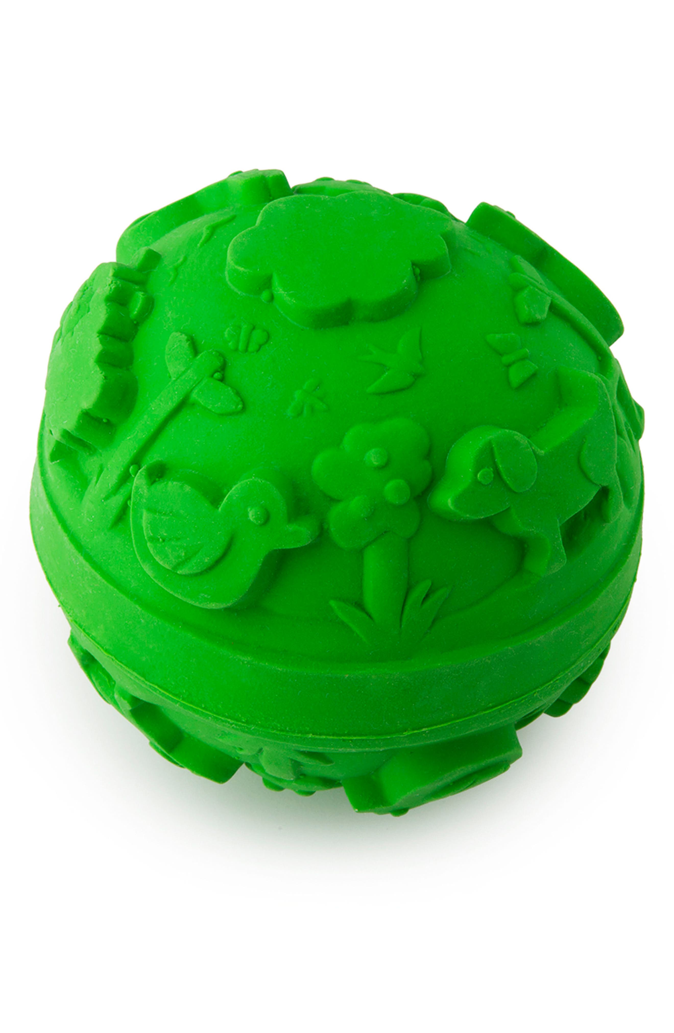 Oli and Carol Baby Ball Teething Toy,                             Main thumbnail 1, color,                             300