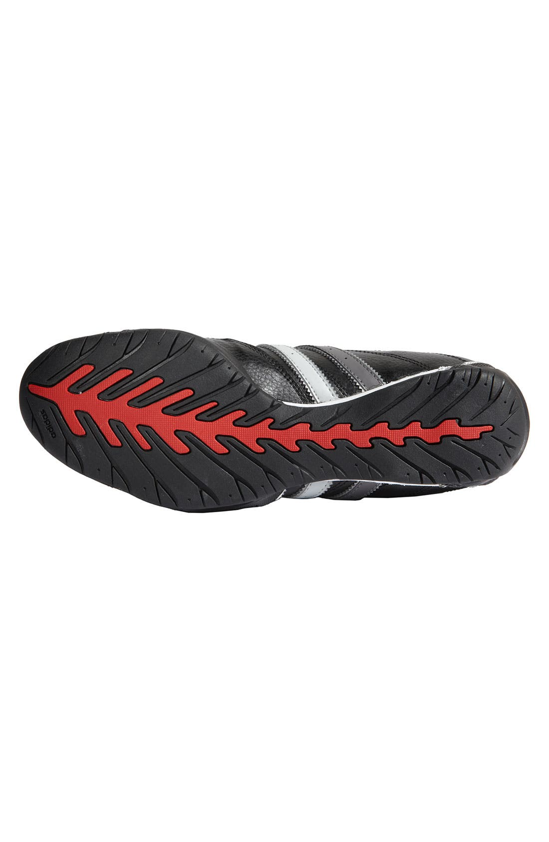 'Adi Racer Lo' Driving Shoe,                             Alternate thumbnail 4, color,                             001