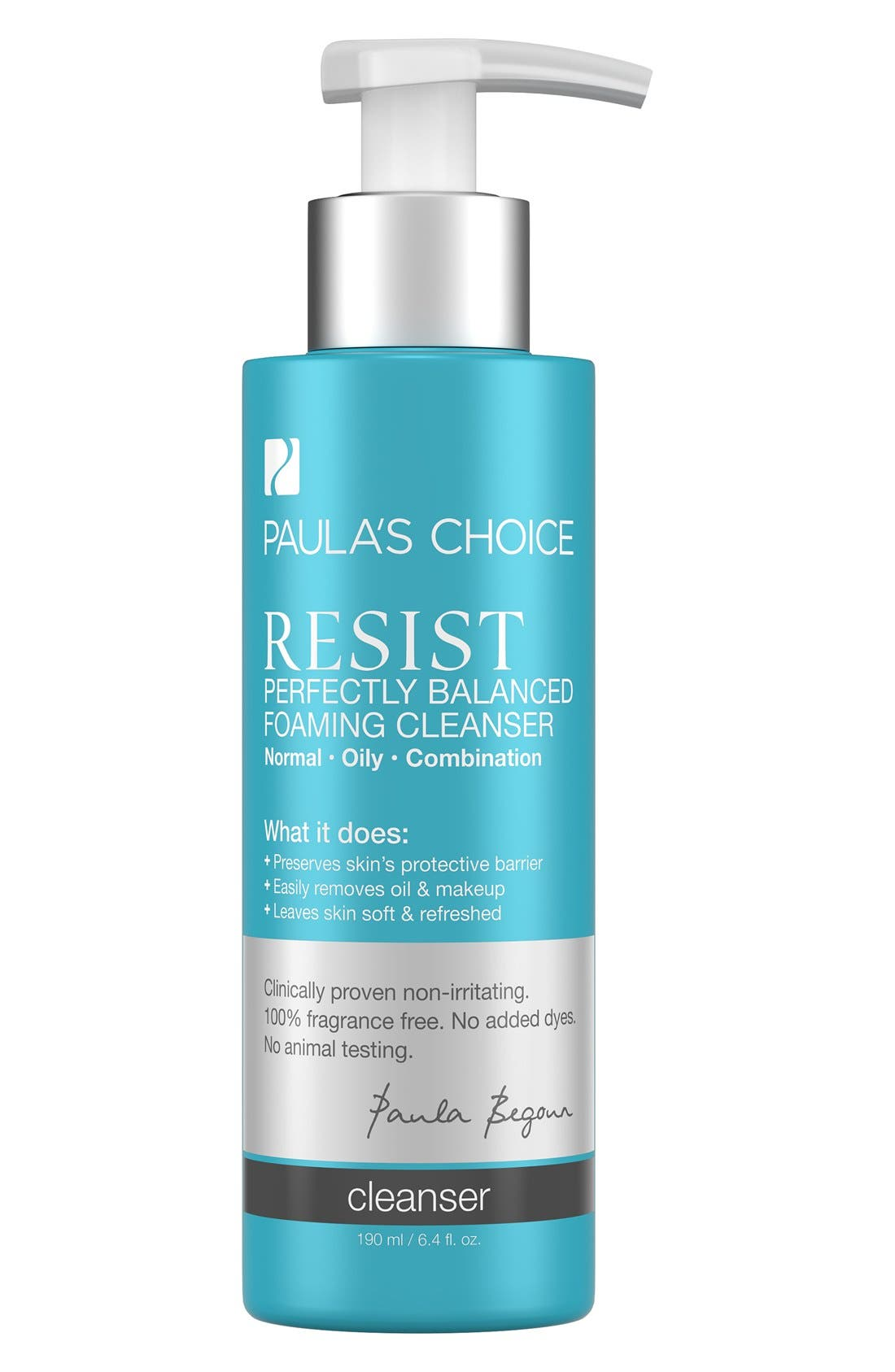 Resist Perfectly Balanced Foaming Cleanser,                         Main,                         color,