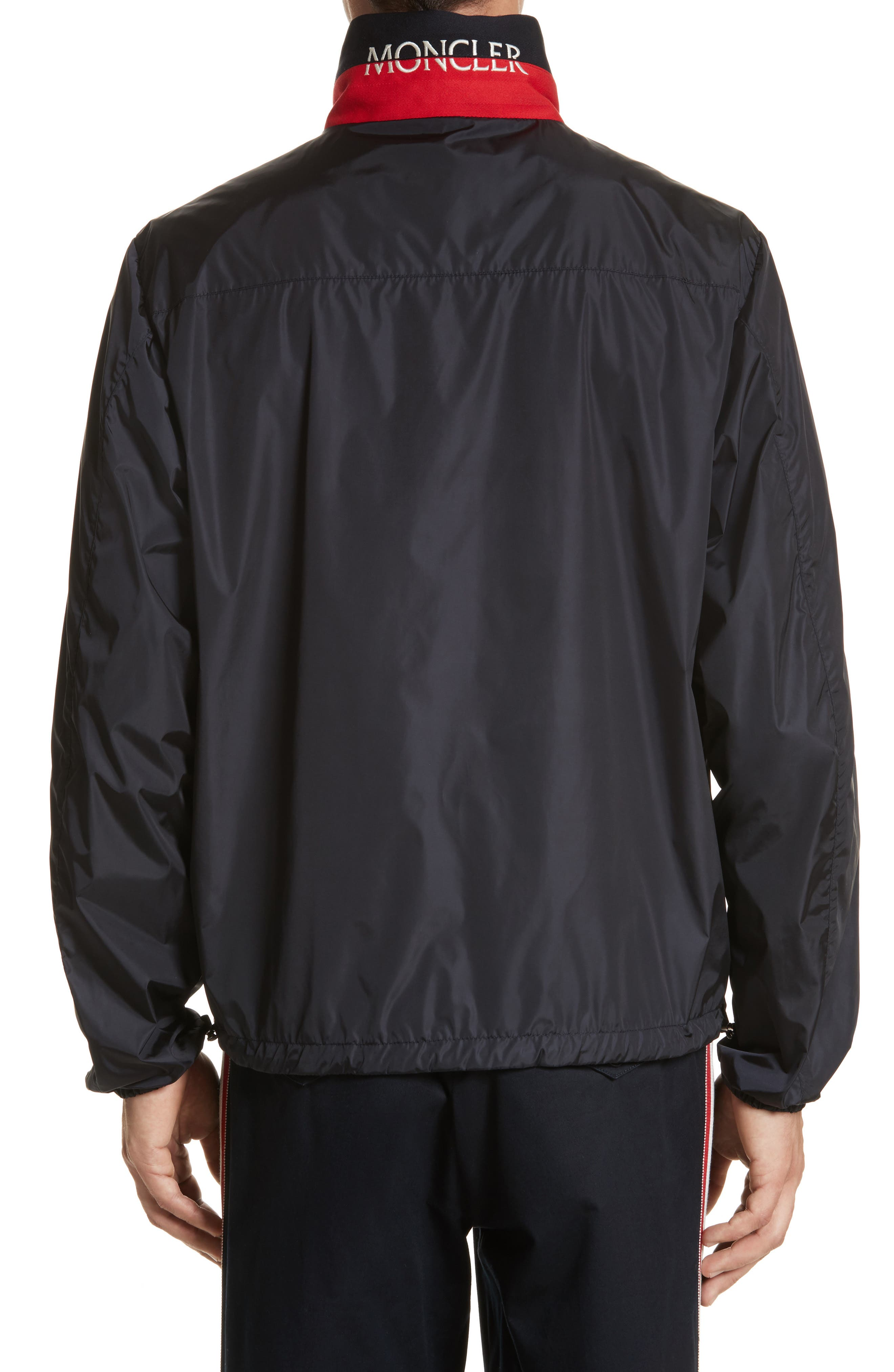 Goulier Nylon Jacket,                             Alternate thumbnail 2, color,                             NAVY