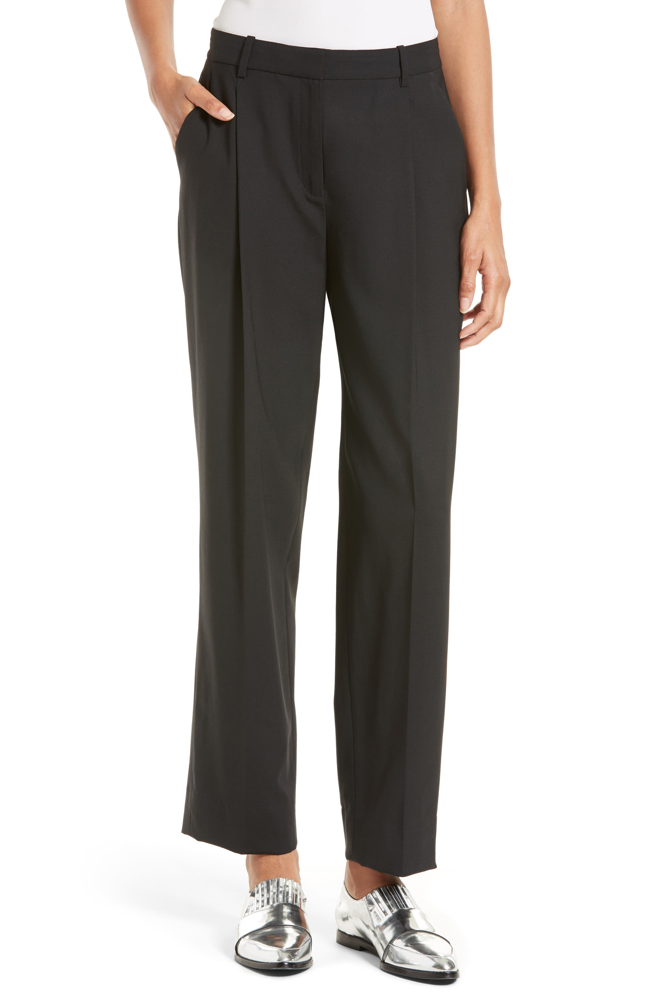 Pleat Front Pants,                         Main,                         color,
