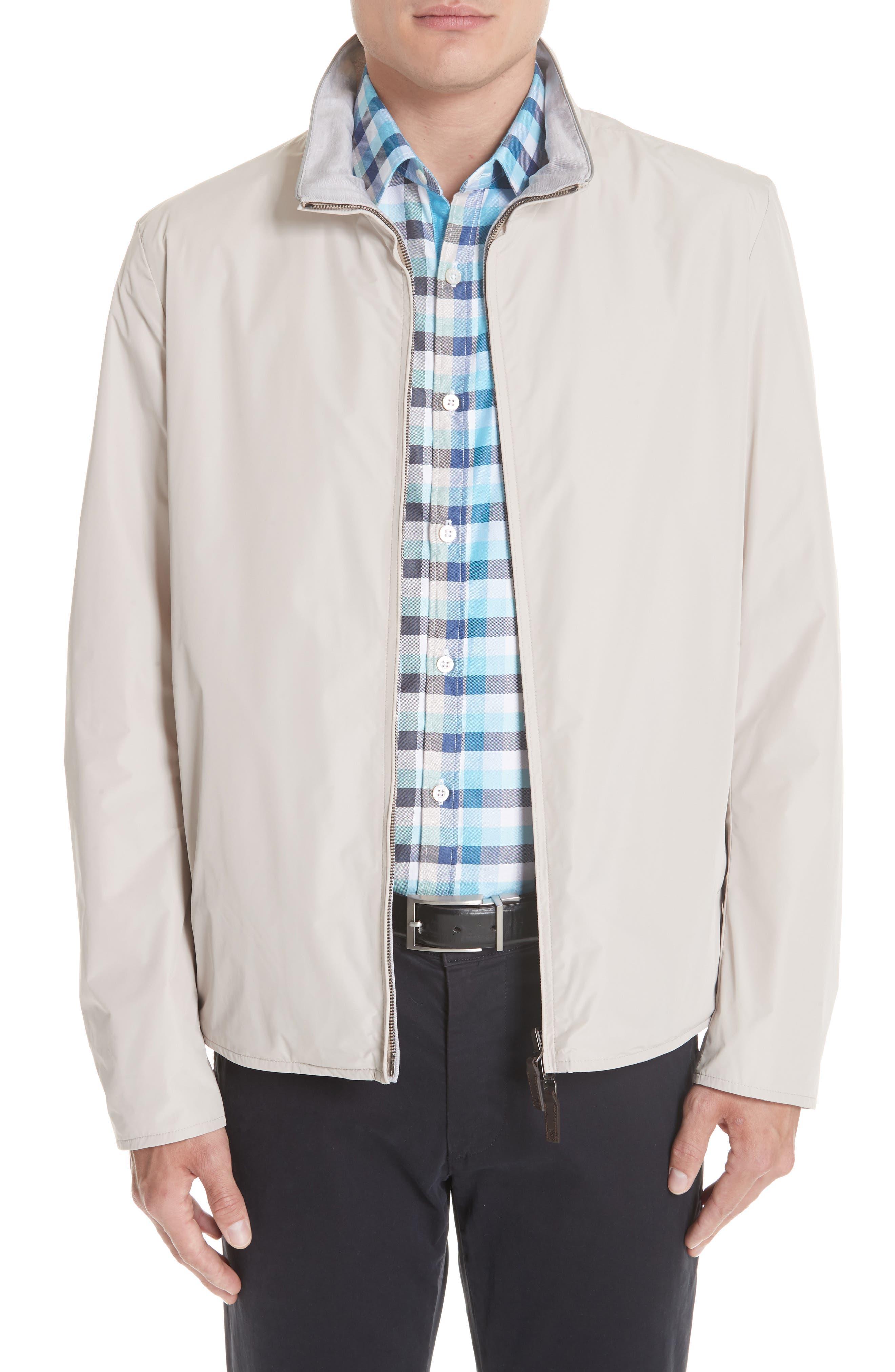 Regular Fit Cotton Jacket,                             Main thumbnail 1, color,