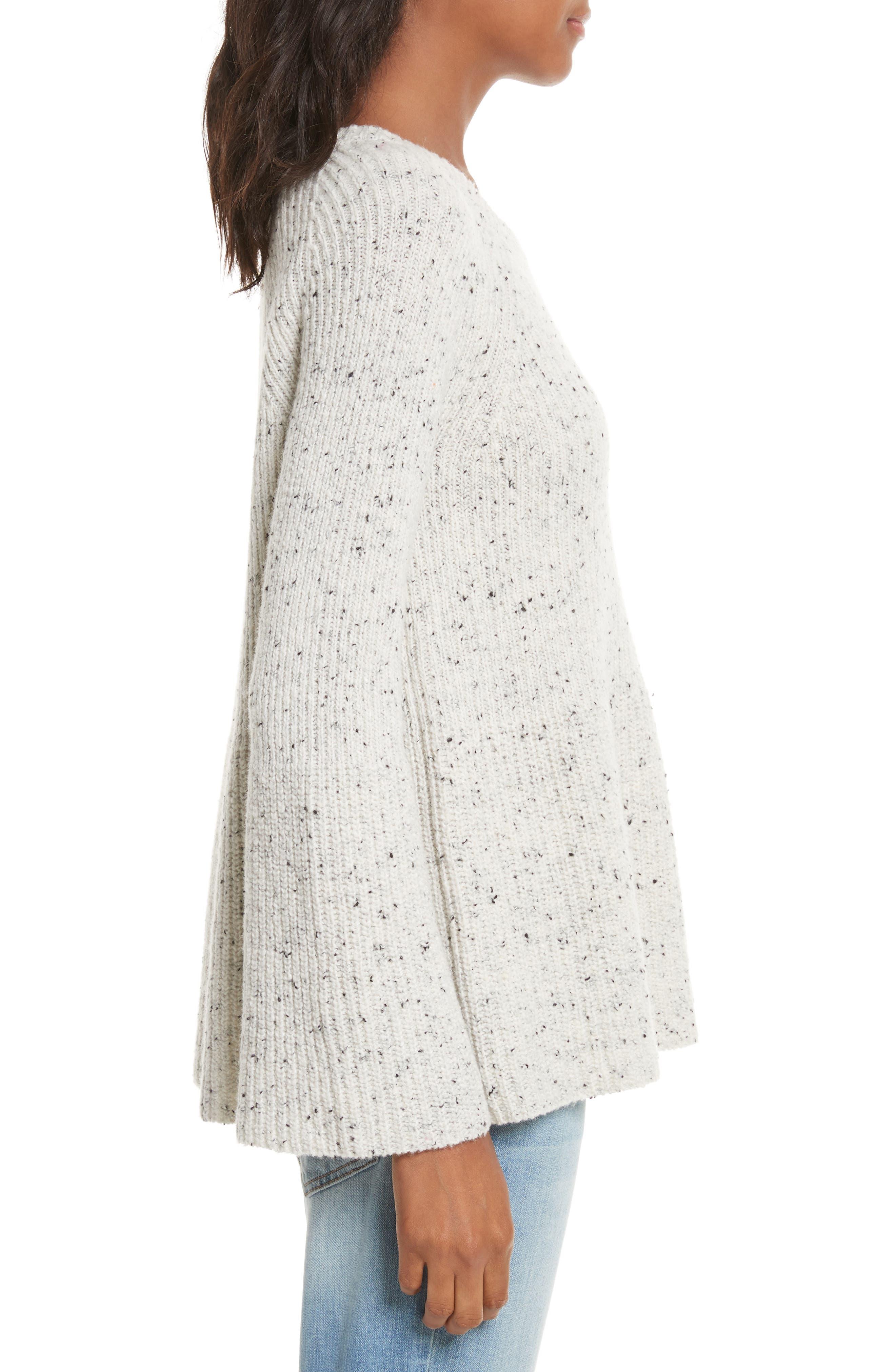Paden Wool Blend Sweater,                             Alternate thumbnail 3, color,