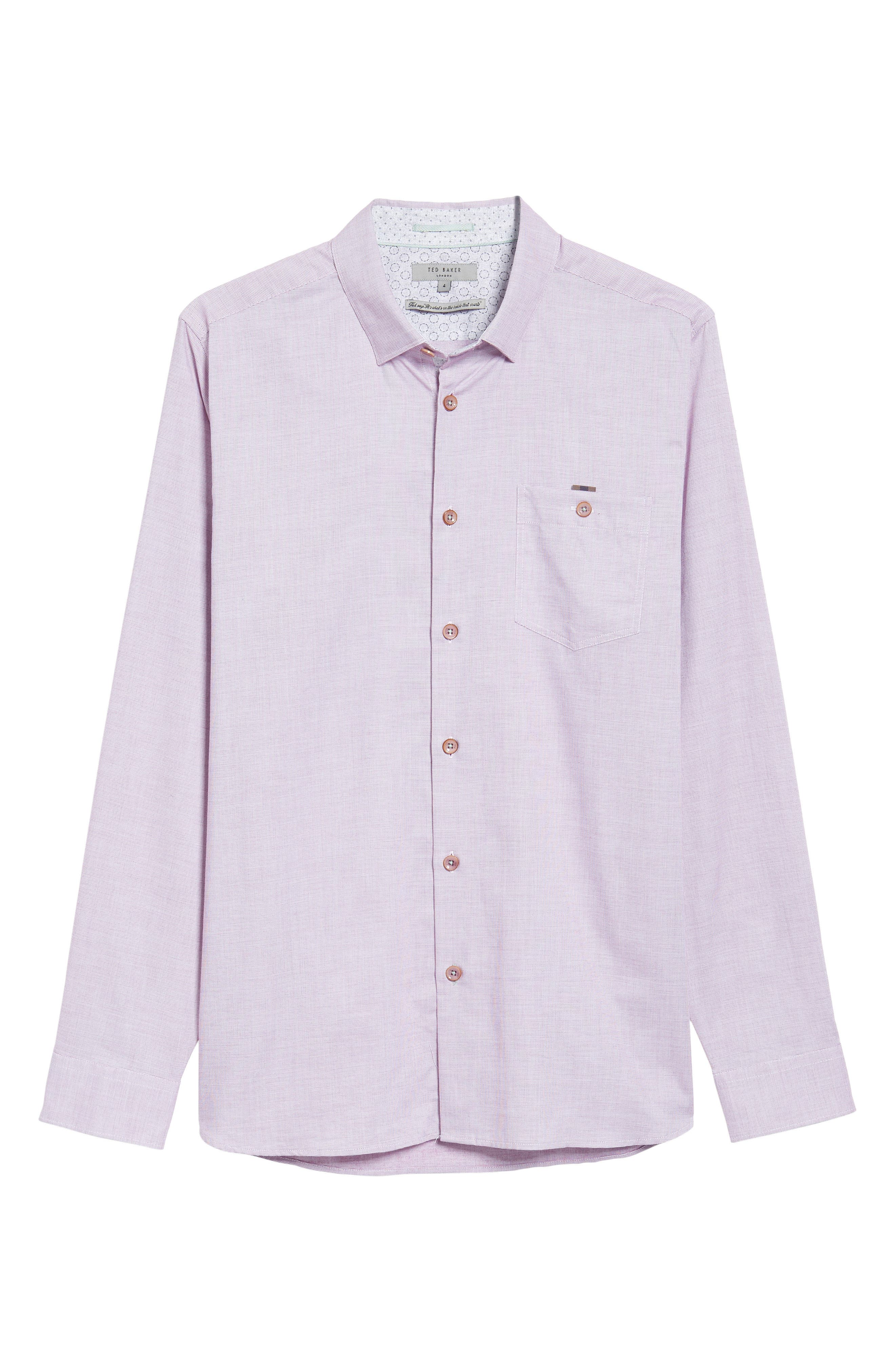 Slim Fit Textured Sport Shirt,                             Alternate thumbnail 29, color,