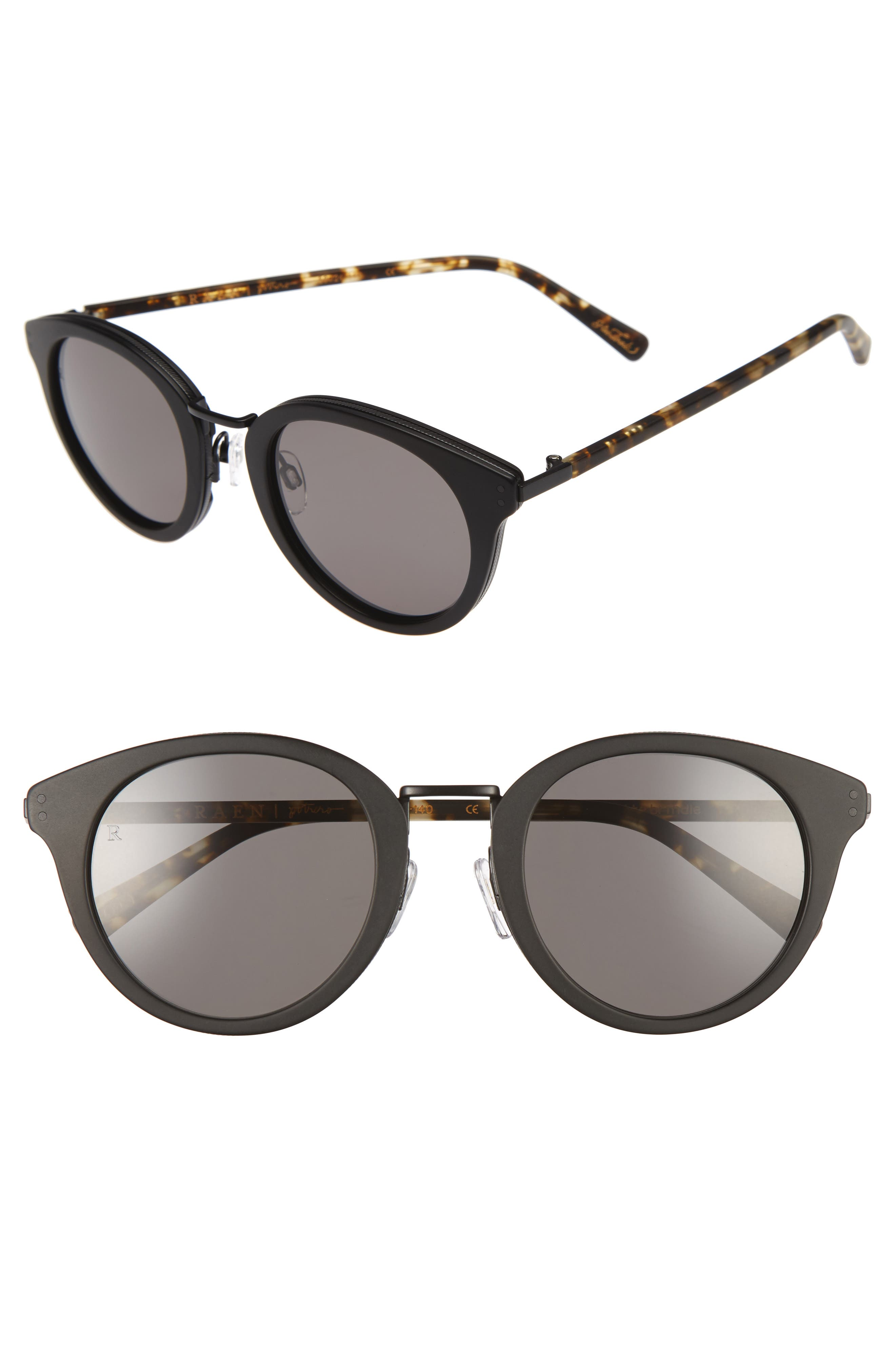 Potrero 50mm Sunglasses,                             Main thumbnail 1, color,                             001