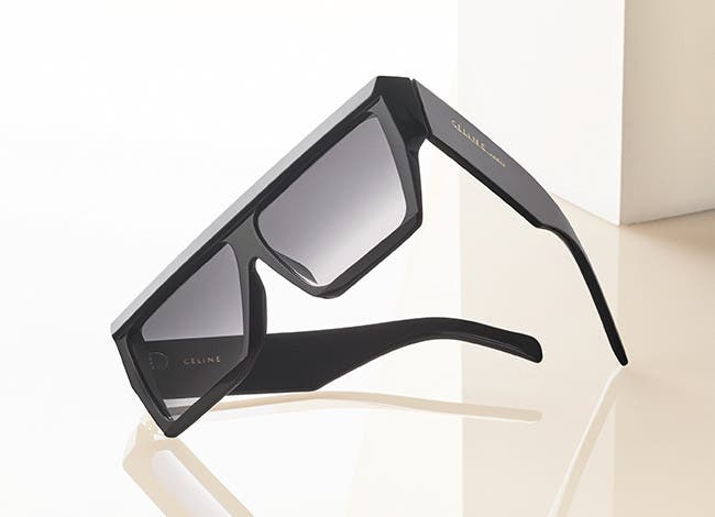 Seek sun: designer sunglasses from Céline.