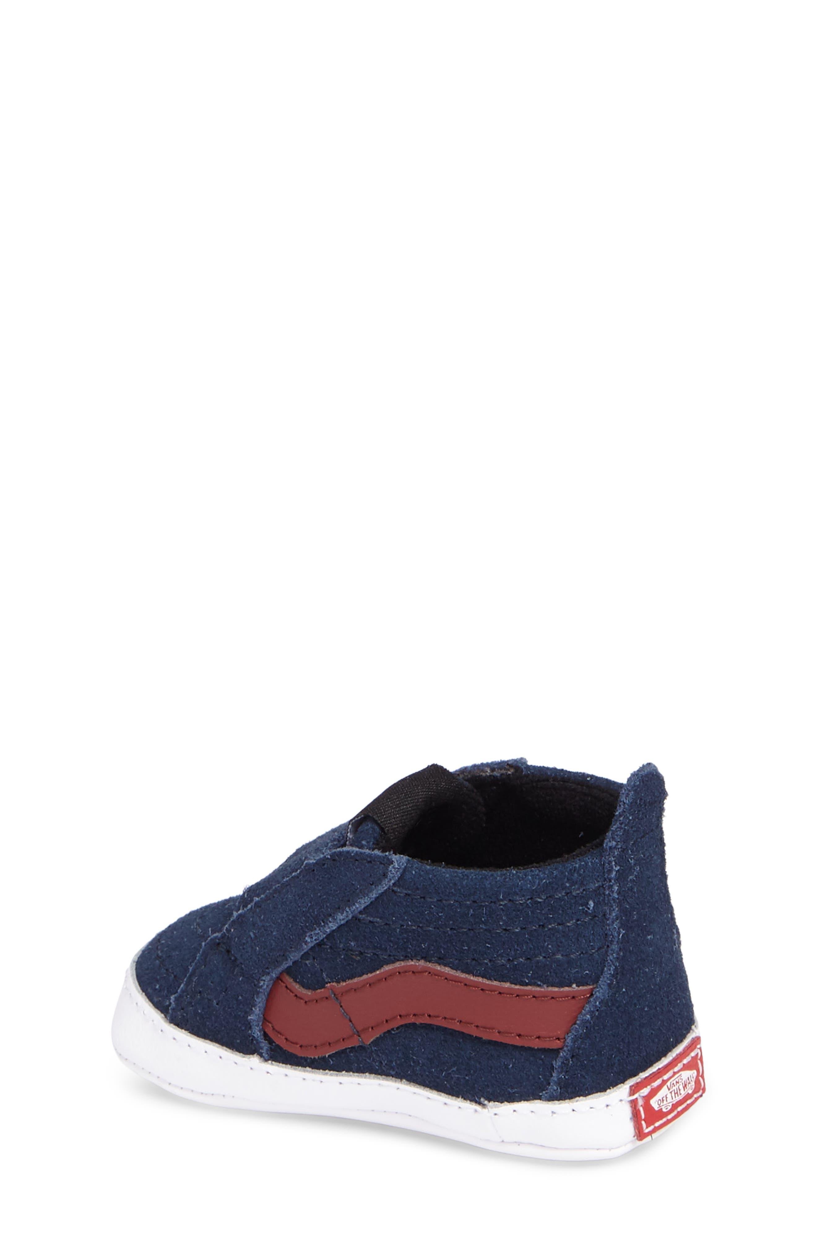 SK8-Hi Crib Sneaker,                             Alternate thumbnail 2, color,                             401