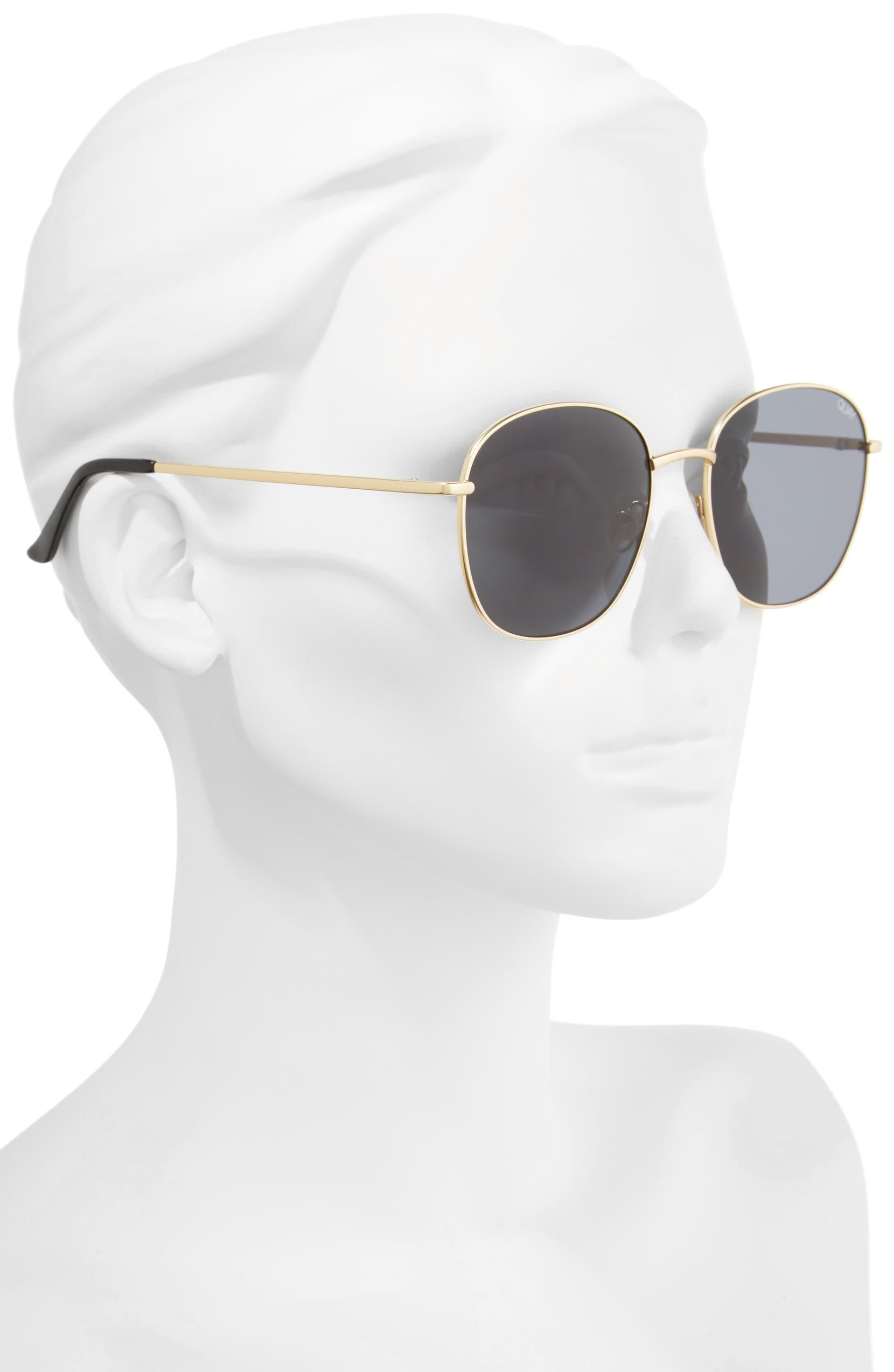 48d2af9799 Quay Australia Jezabell 57mm Round Sunglasses