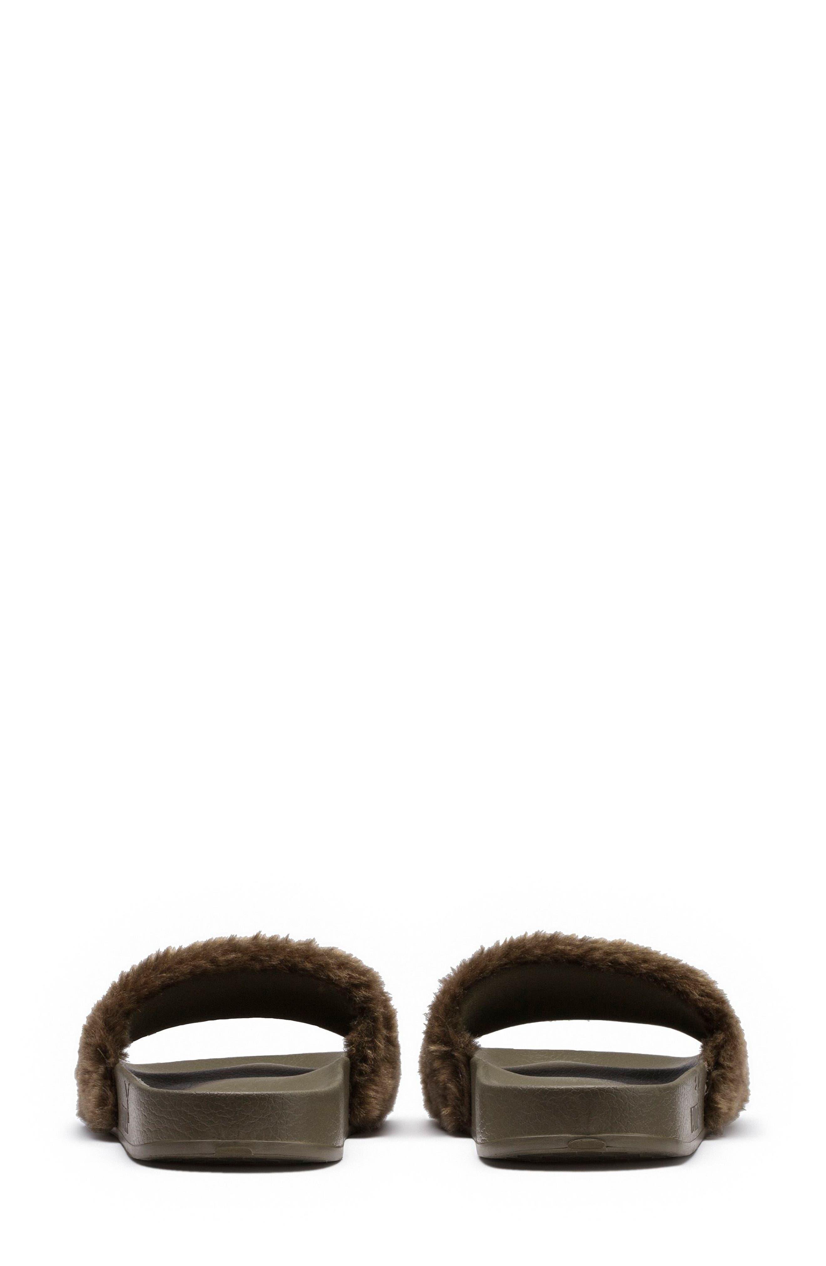 FENTY PUMA by Rihanna Lead Cat Slide Sandals,                             Alternate thumbnail 2, color,                             300