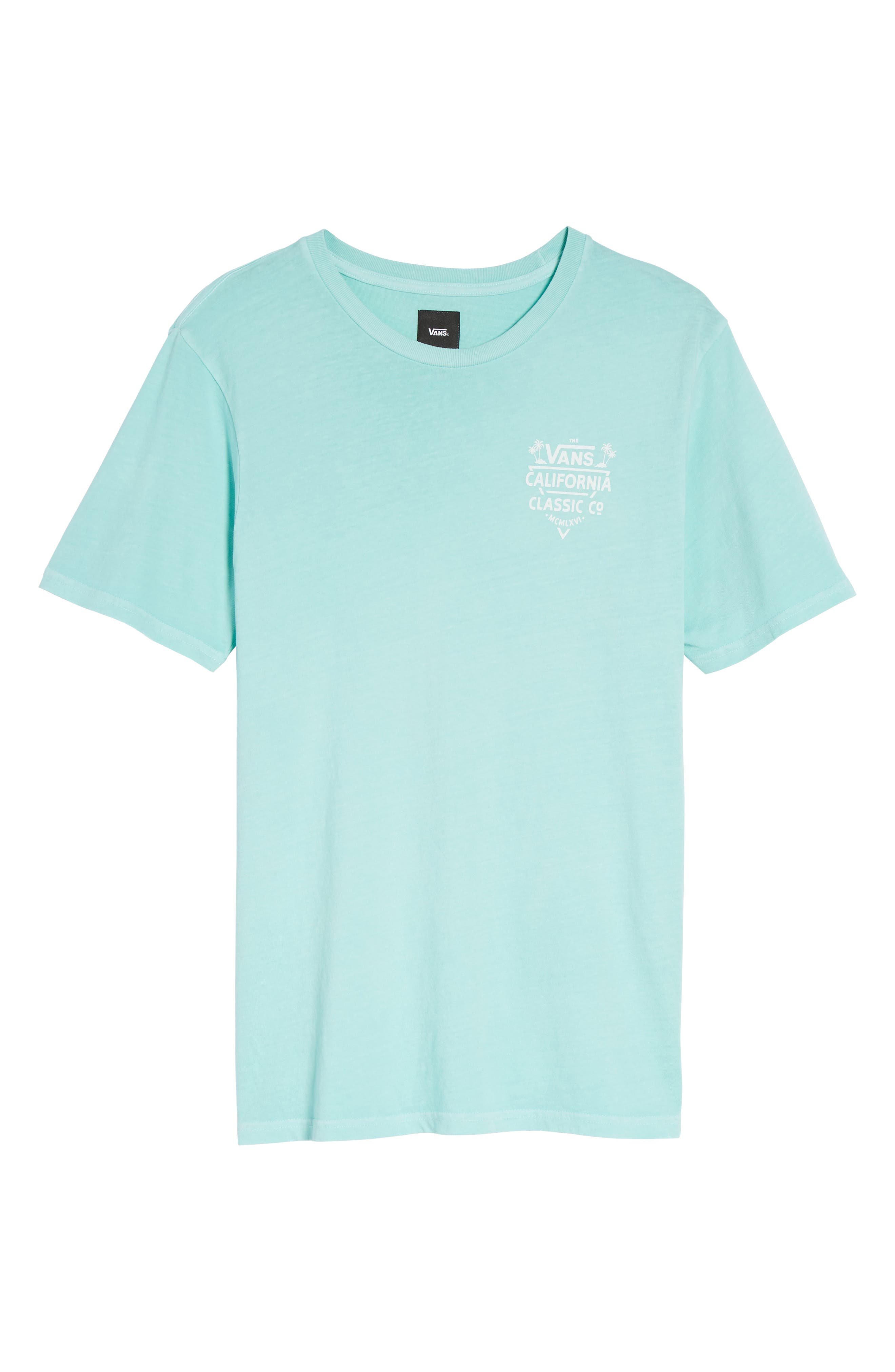 California Classic Co. Overdye T-Shirt,                             Alternate thumbnail 6, color,                             400