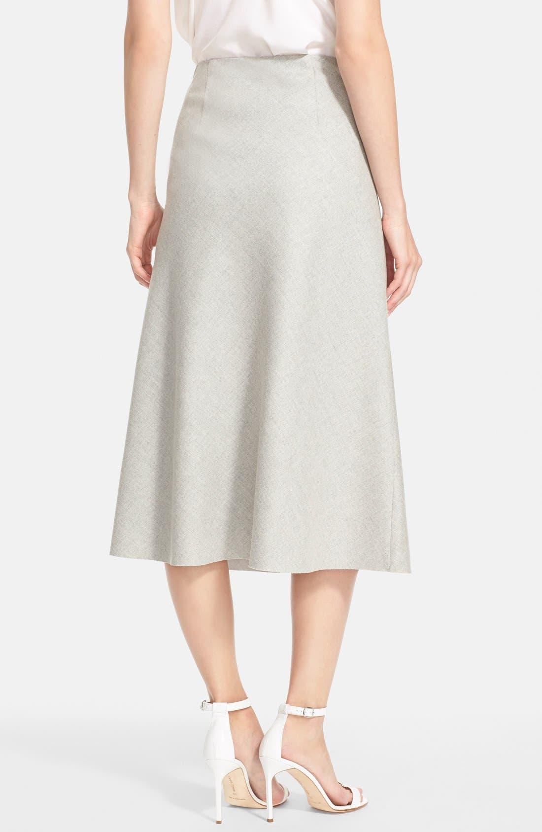 'Jahneem' Flannel Skirt,                             Alternate thumbnail 3, color,                             050