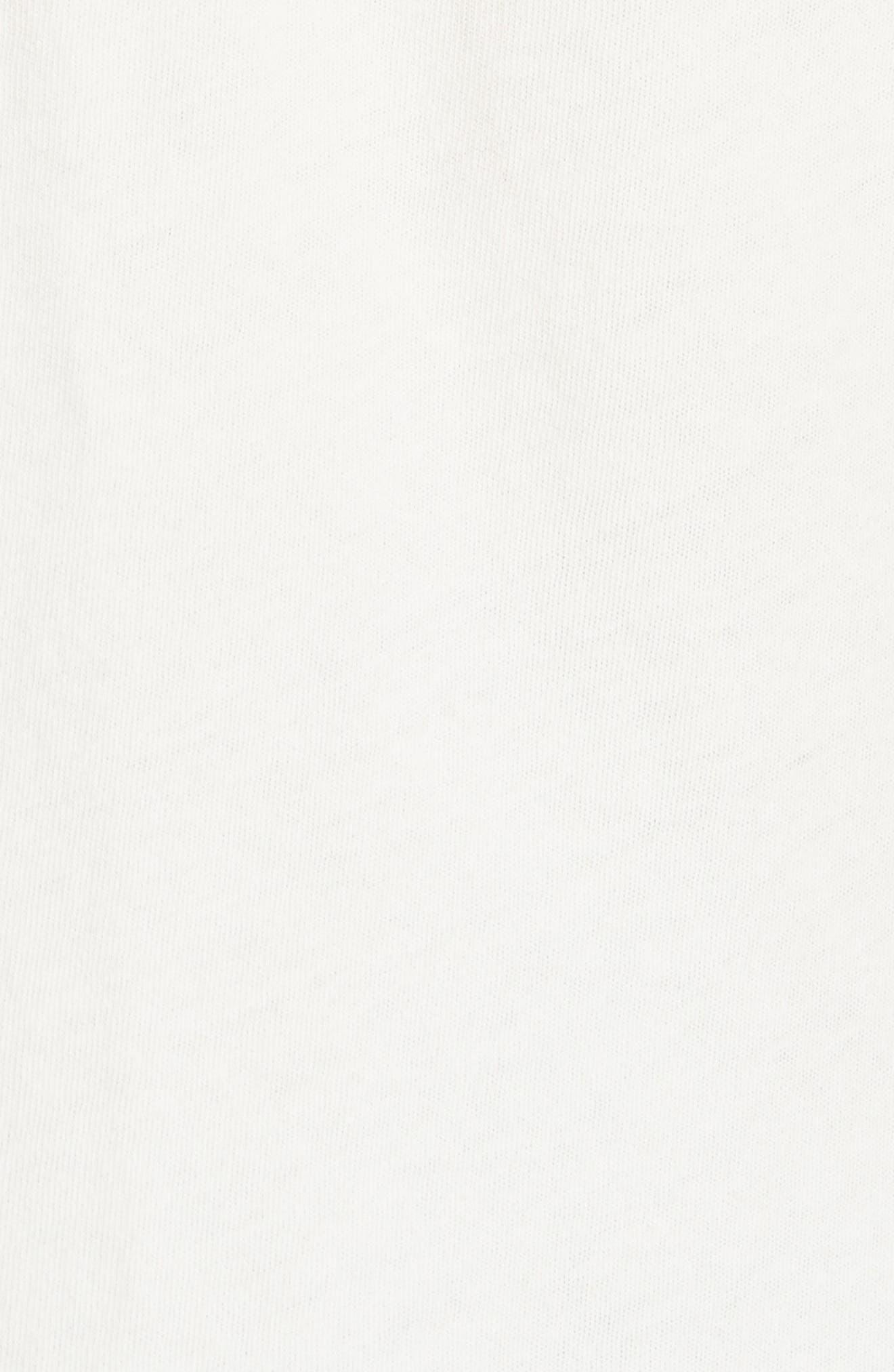 'The Sleeveless' Crewneck Tank,                             Alternate thumbnail 5, color,                             WASHED WHITE