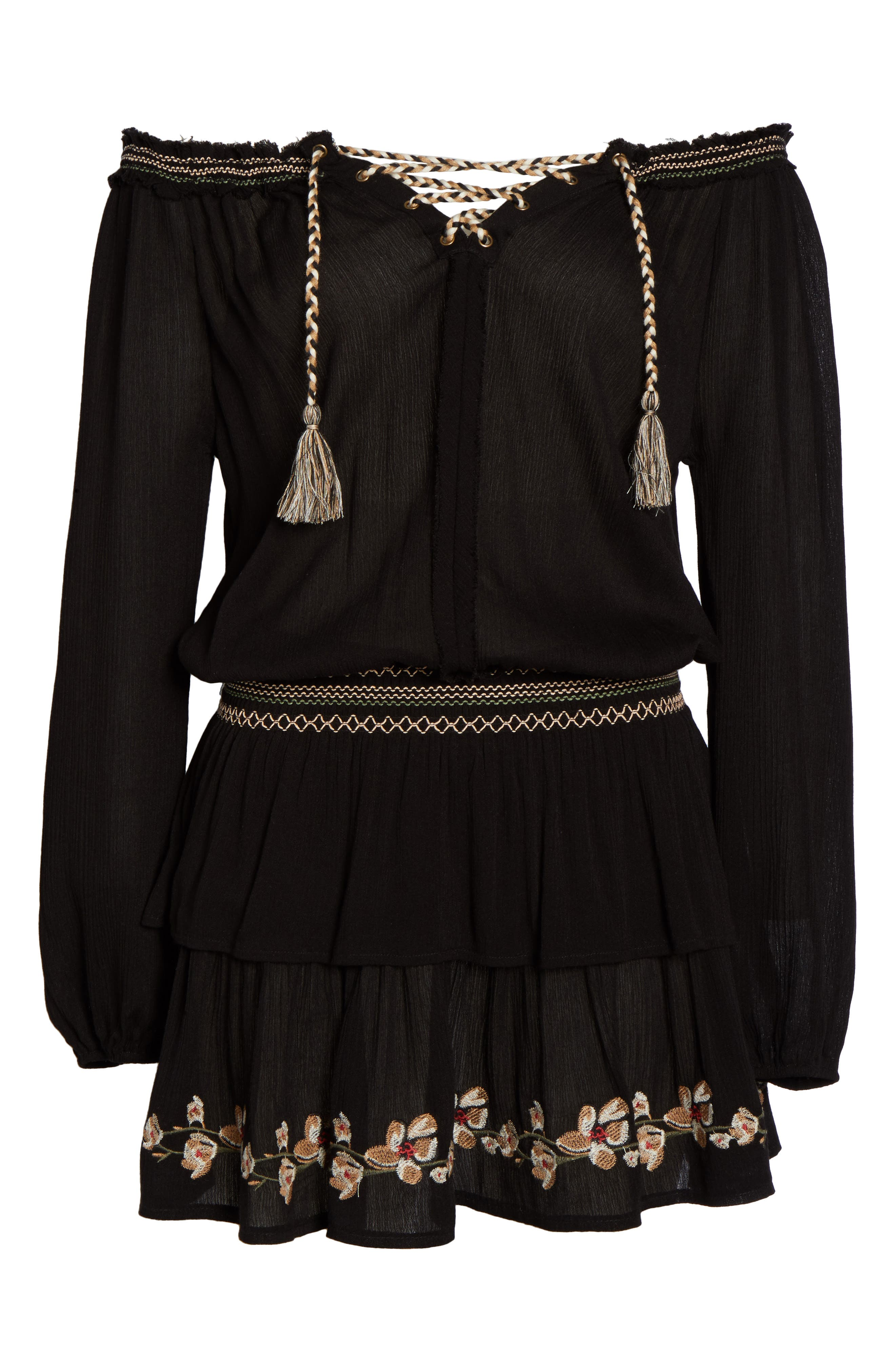 Cover-Up Dress,                             Alternate thumbnail 6, color,                             001
