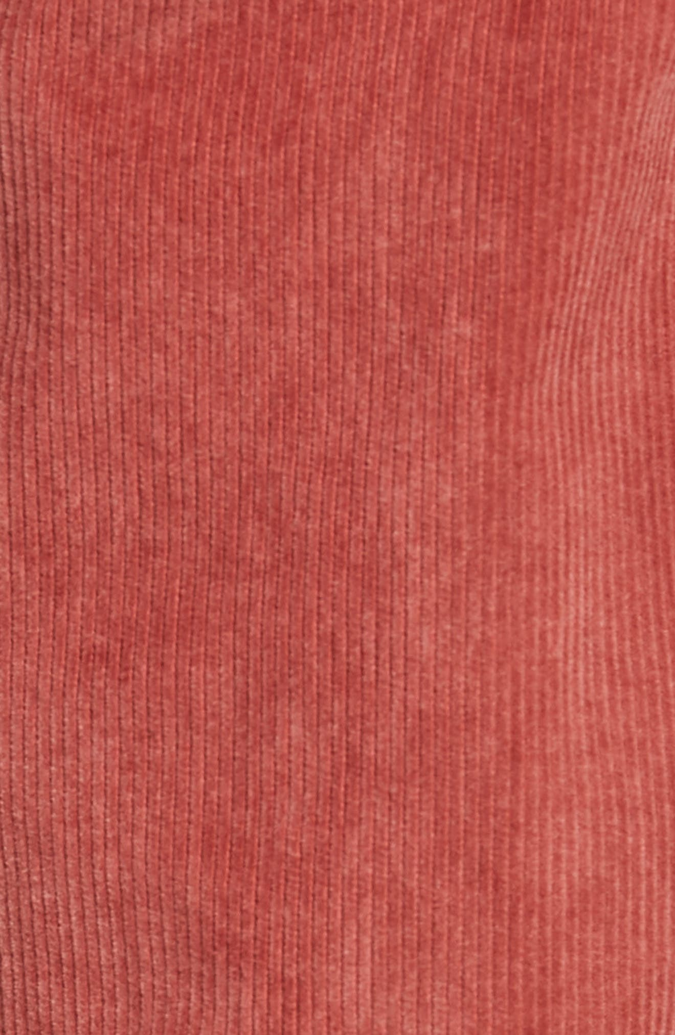 511<sup>™</sup> Slim Fit Corduroy Pants,                             Alternate thumbnail 5, color,                             RALLY RED