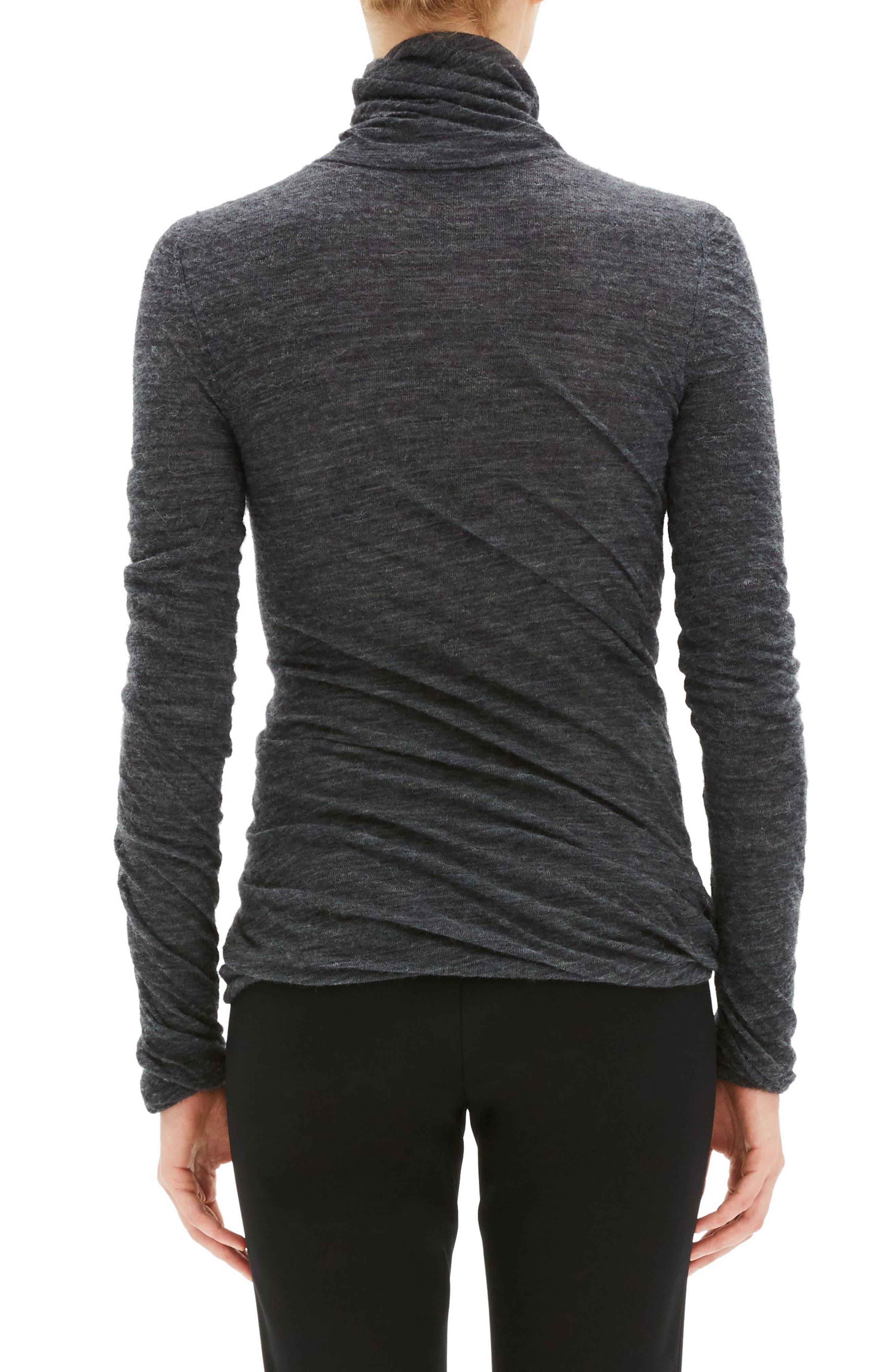 Twist Turtleneck Sweater,                             Alternate thumbnail 2, color,                             030