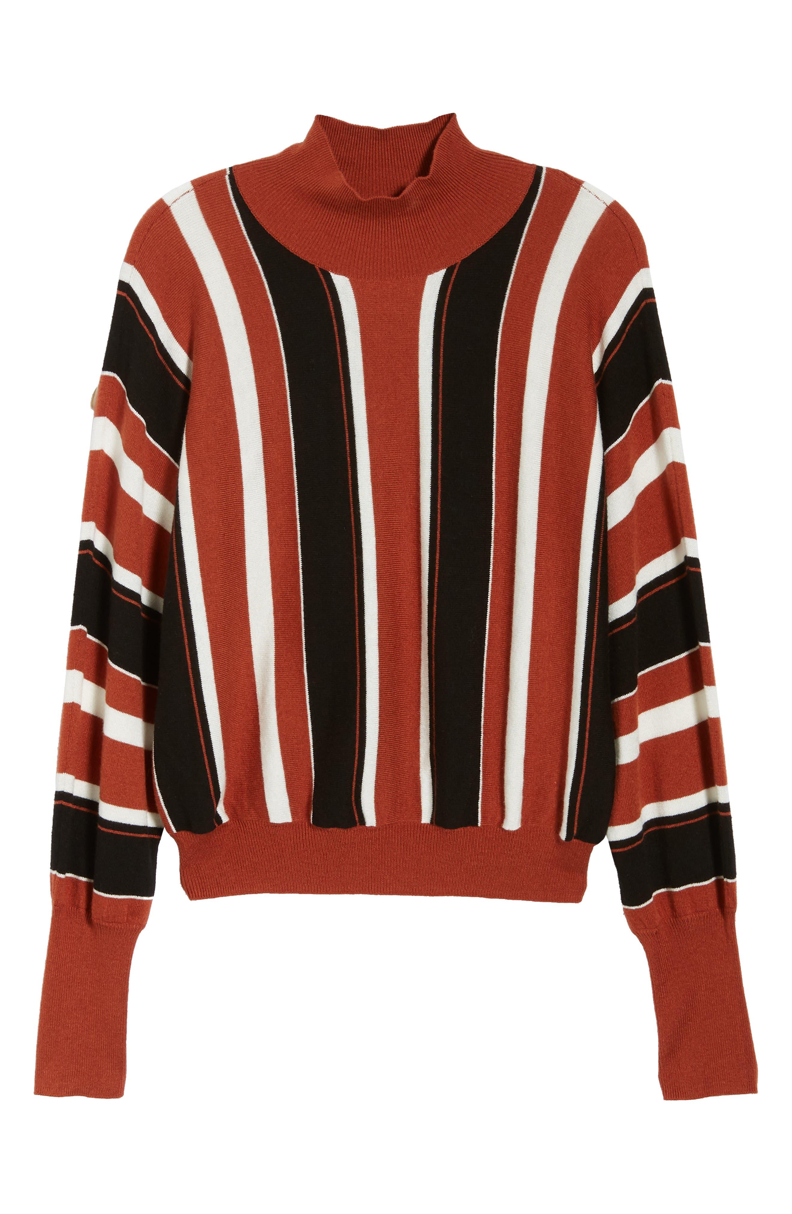 Stripe Dolman Sleeve Sweater,                             Alternate thumbnail 7, color,                             210