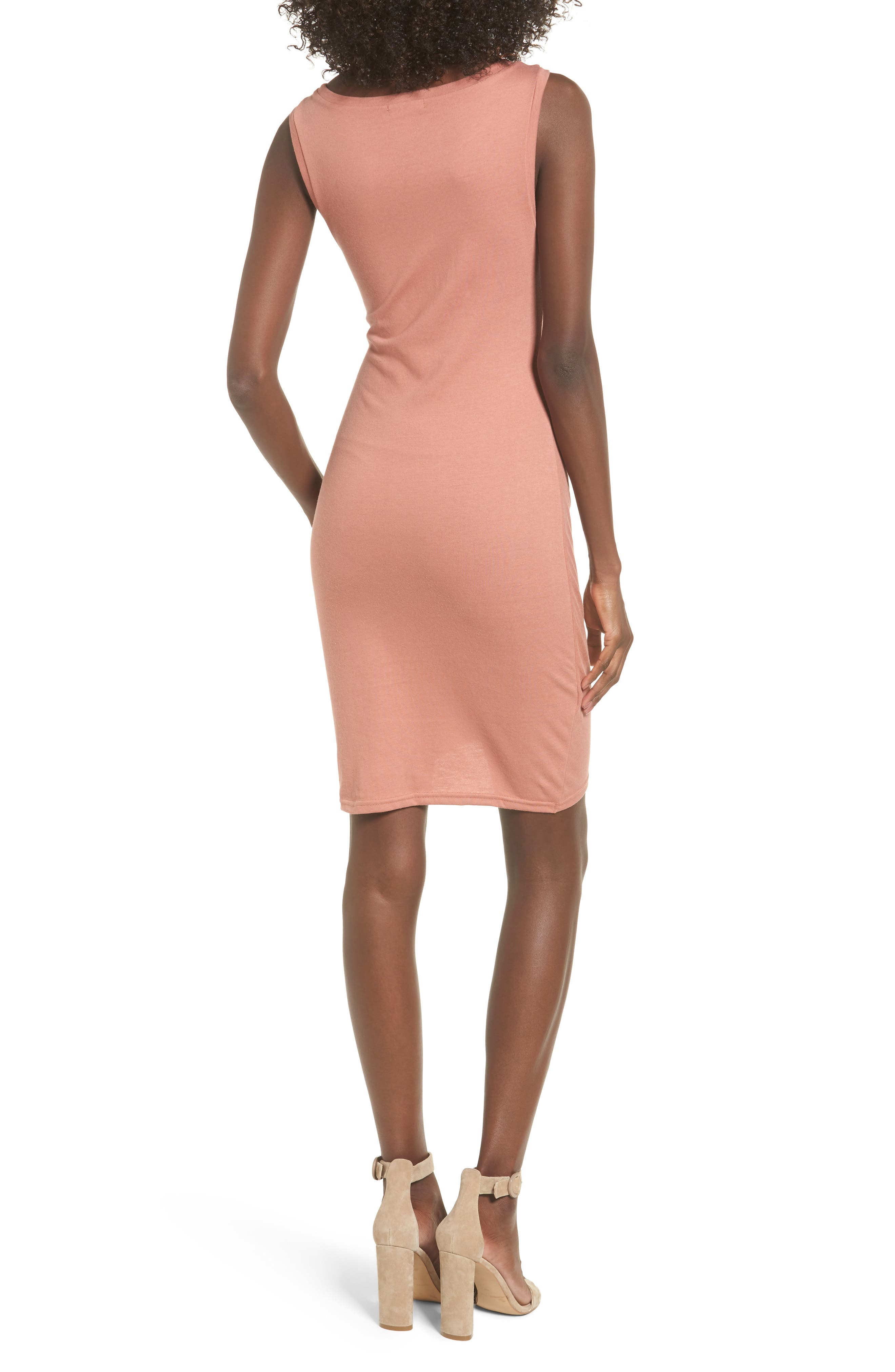 Ruched Body-Con Tank Dress,                             Alternate thumbnail 54, color,