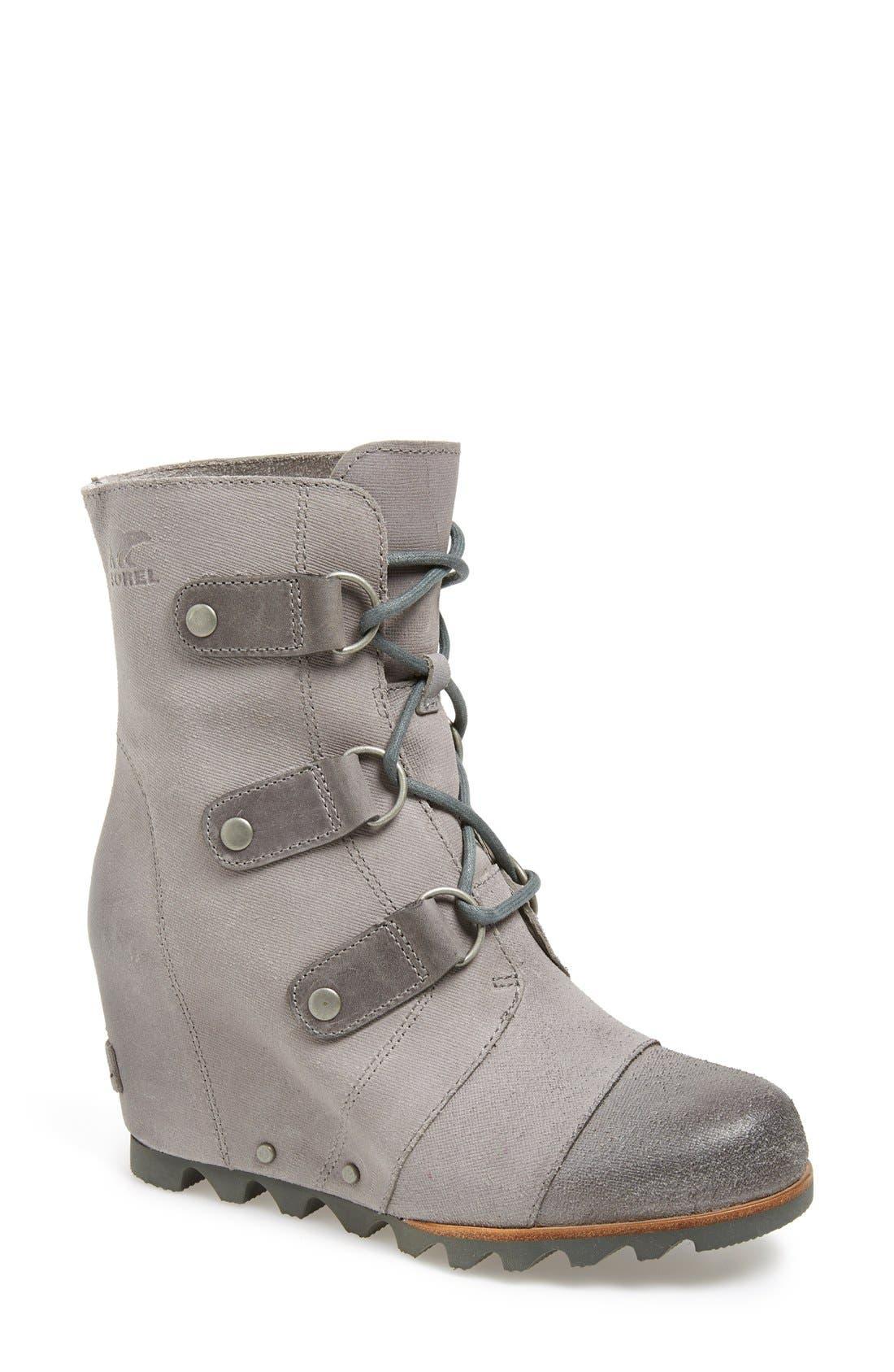 'Joan of Arctic' Waterproof Wedge Boot,                             Main thumbnail 5, color,