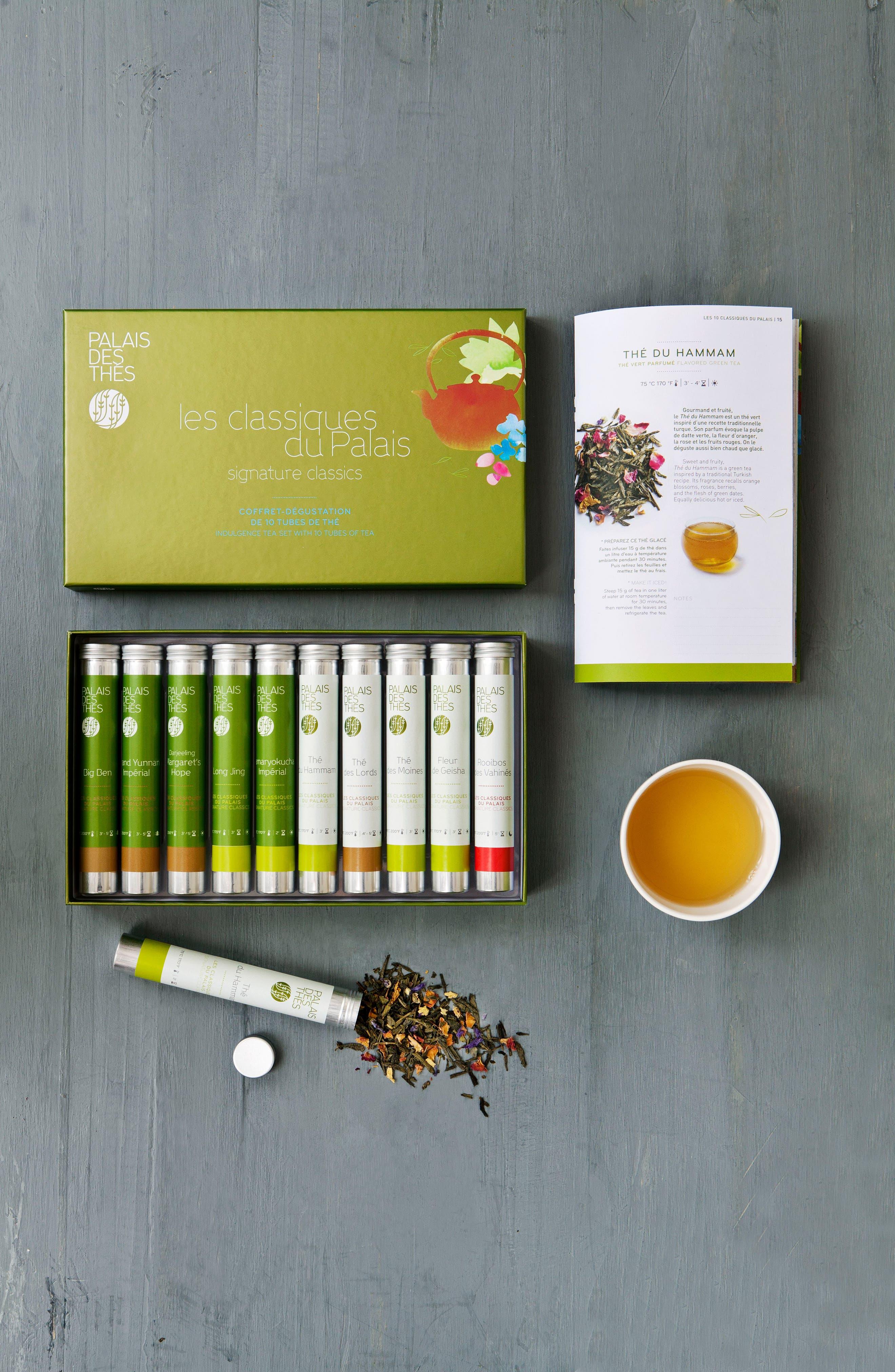 Signature Classics 10 Vial Loose Tea Tasting Set,                             Alternate thumbnail 2, color,                             SIGNATURE CLASSICS