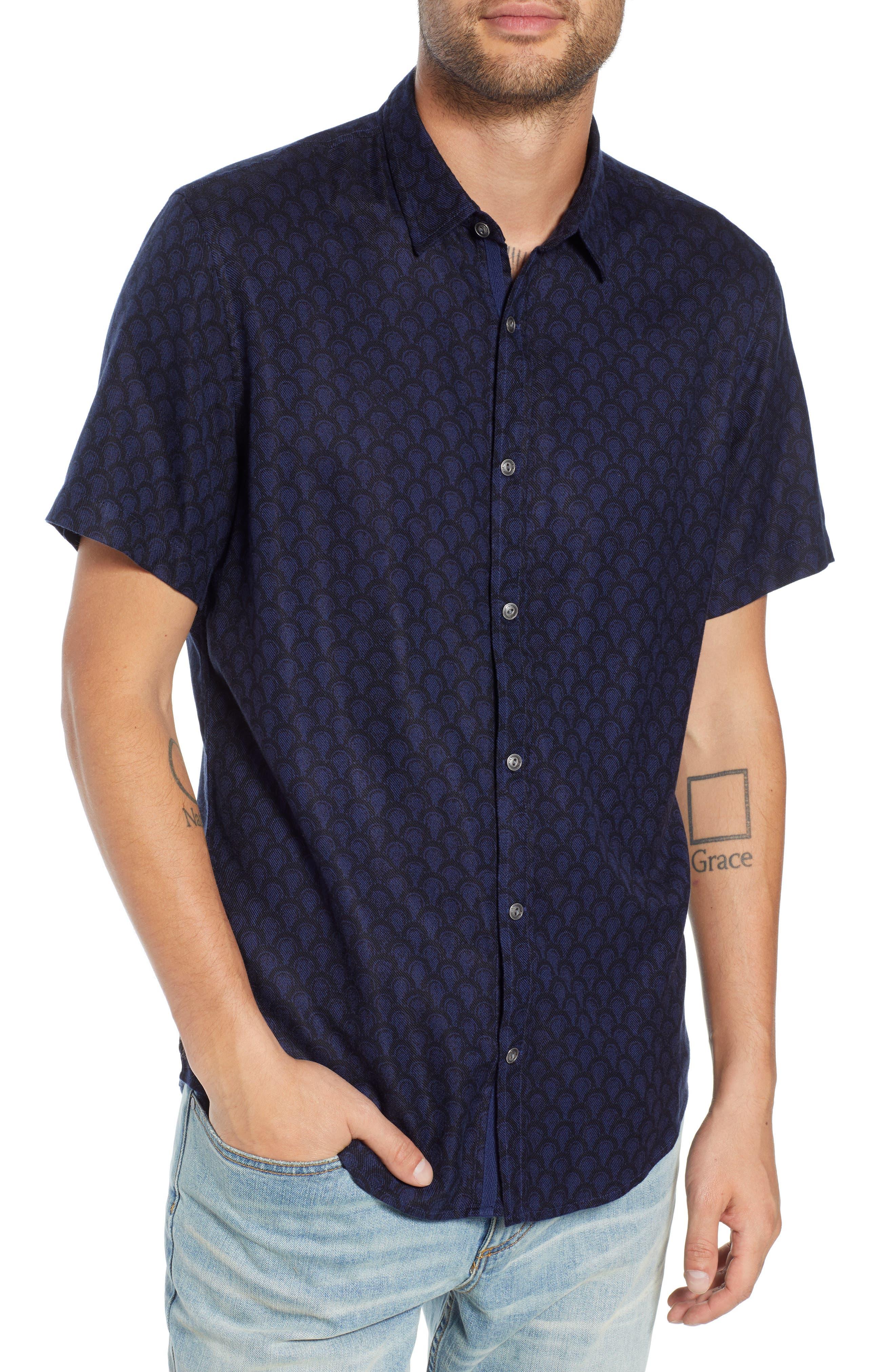 Trim Fit Print Sport Shirt,                         Main,                         color, 449