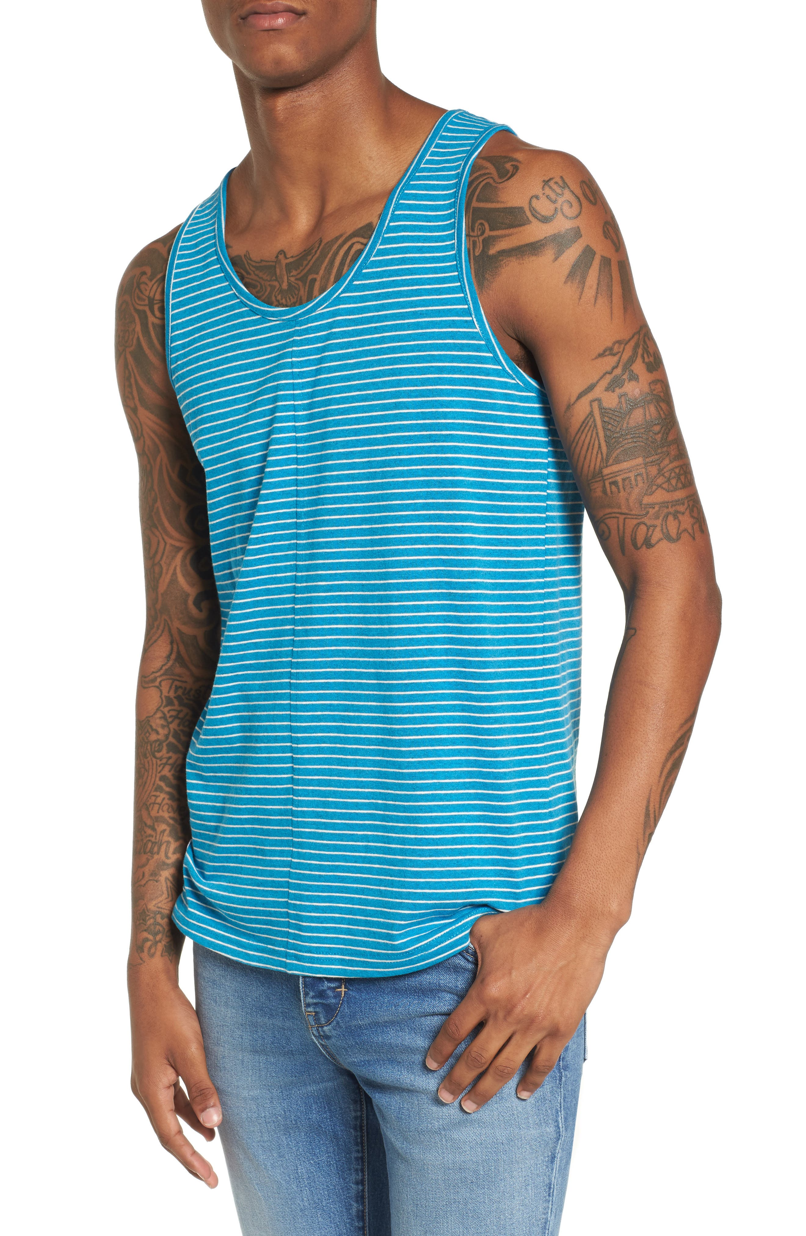 Boost Tank,                         Main,                         color, TEAL