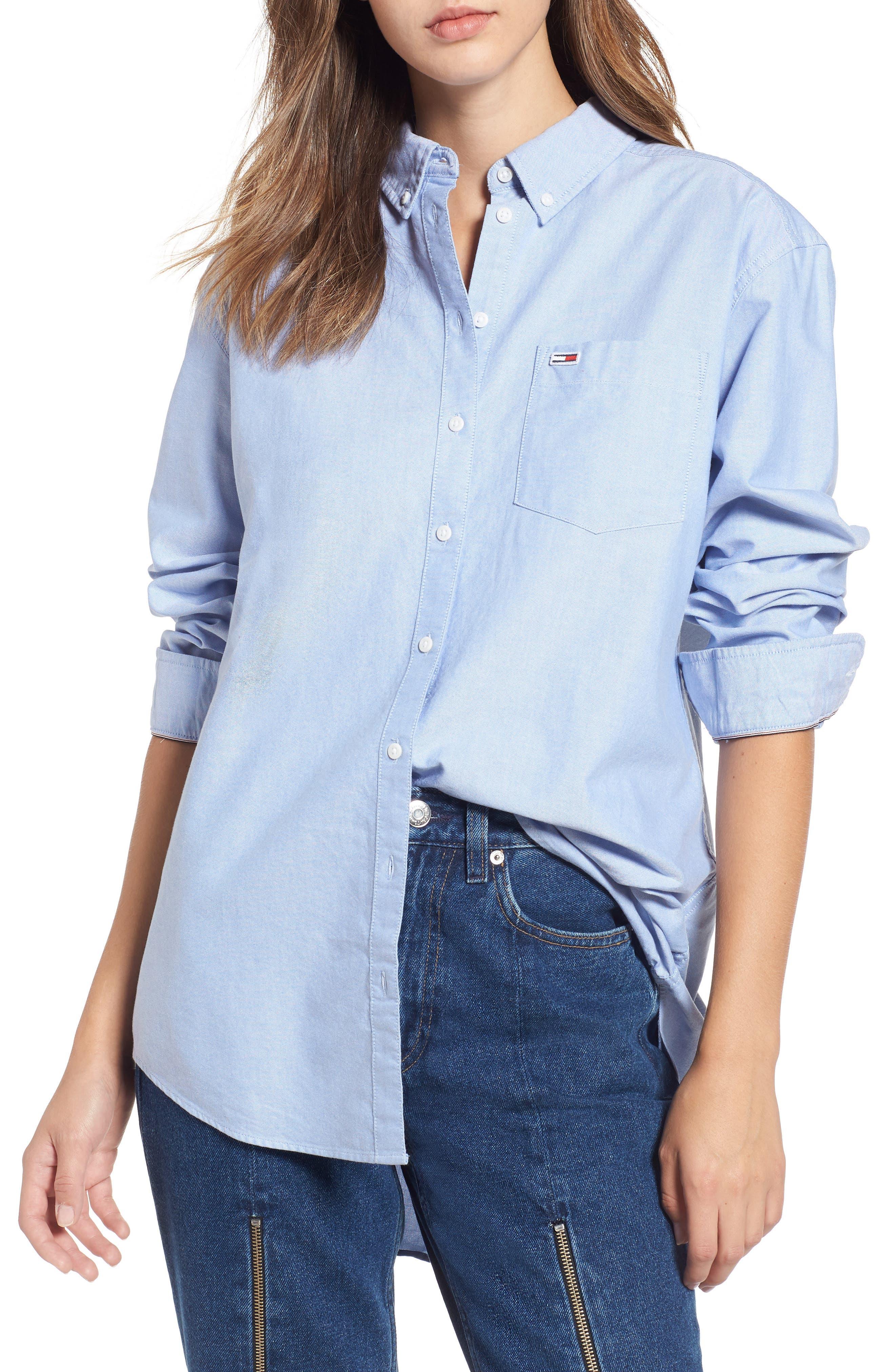 Classics Shirt,                         Main,                         color, LIGHT BLUE